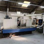Huron GX 411 F Bed Type Milling Machine. Control Unit: CNC (HEIDENHAIN TNC 415B)
