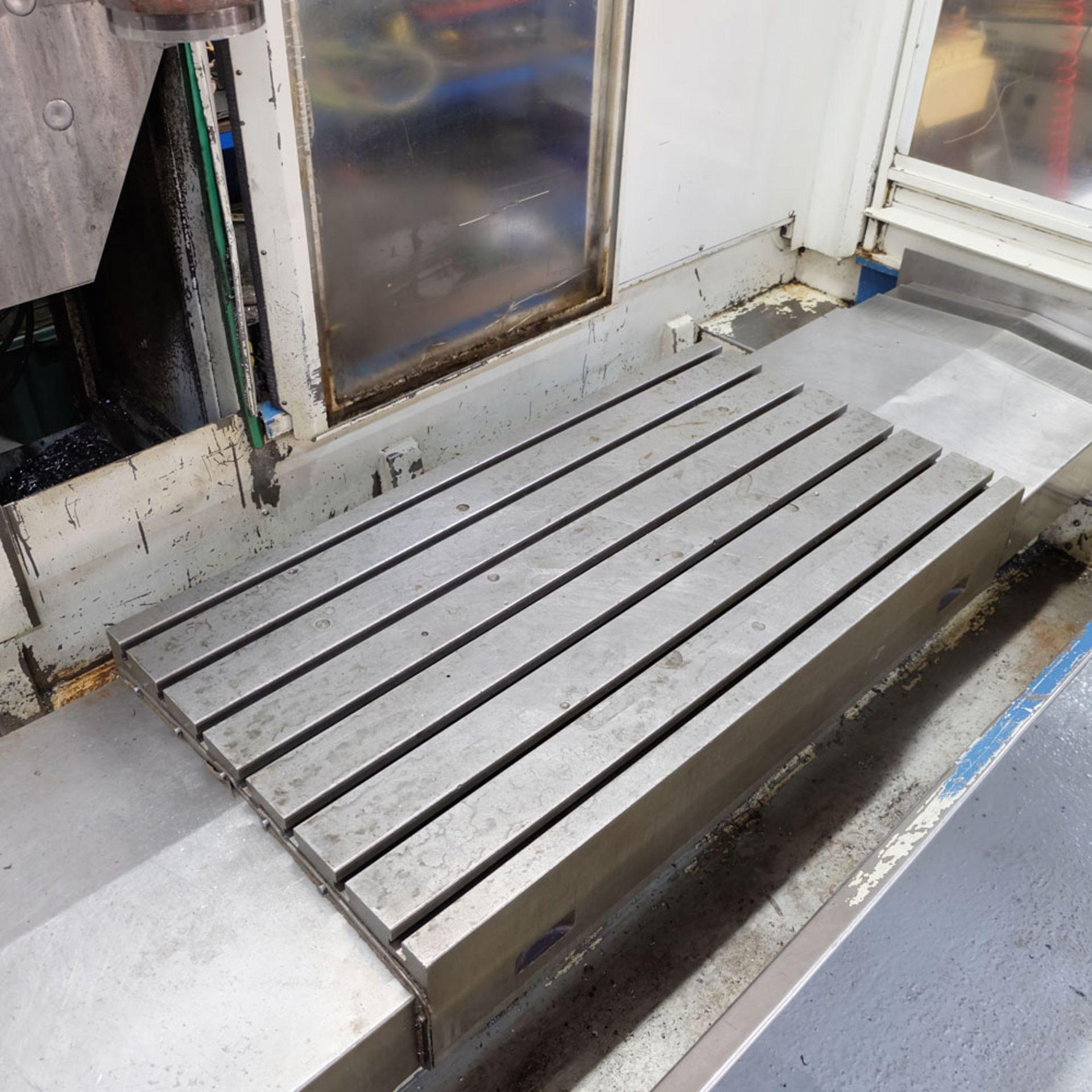 Huron GX 411 F Bed Type Milling Machine. Control Unit: CNC (HEIDENHAIN TNC 415B) - Image 4 of 12