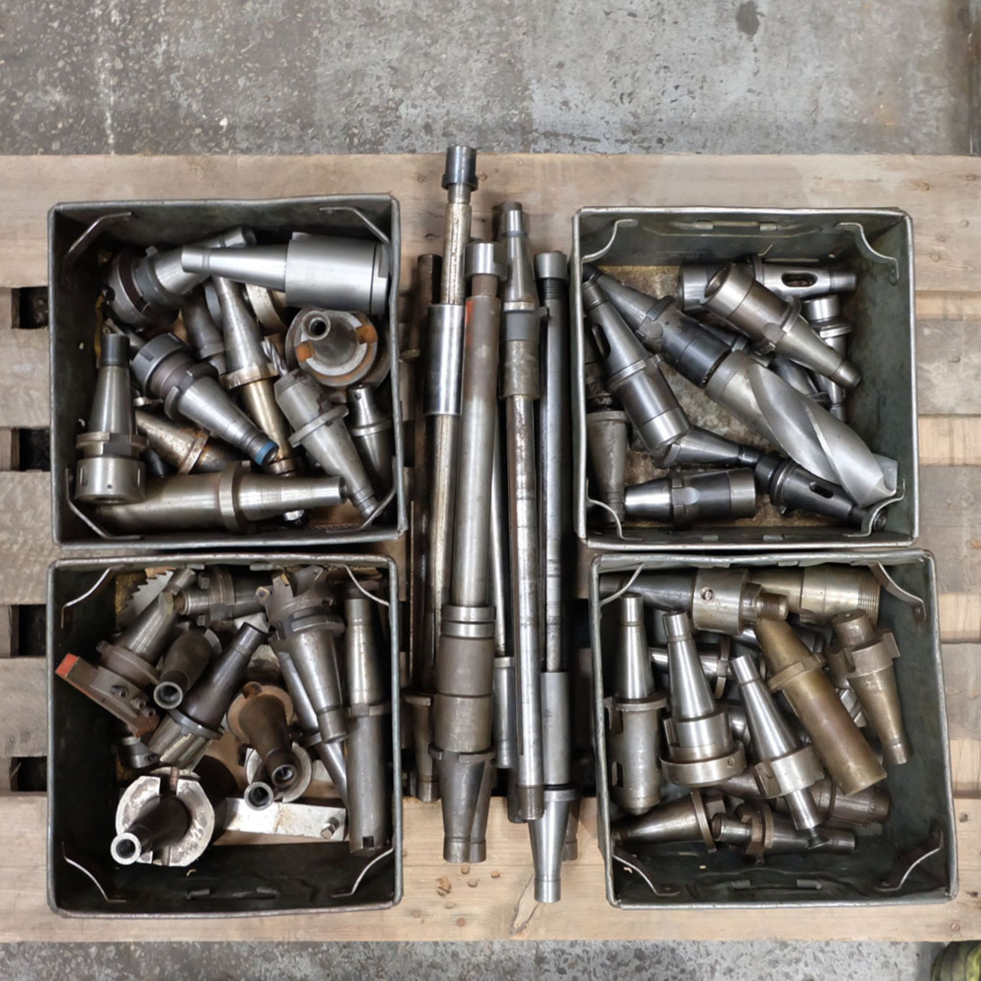 Quantity of 40 ISO Spindle Tooling