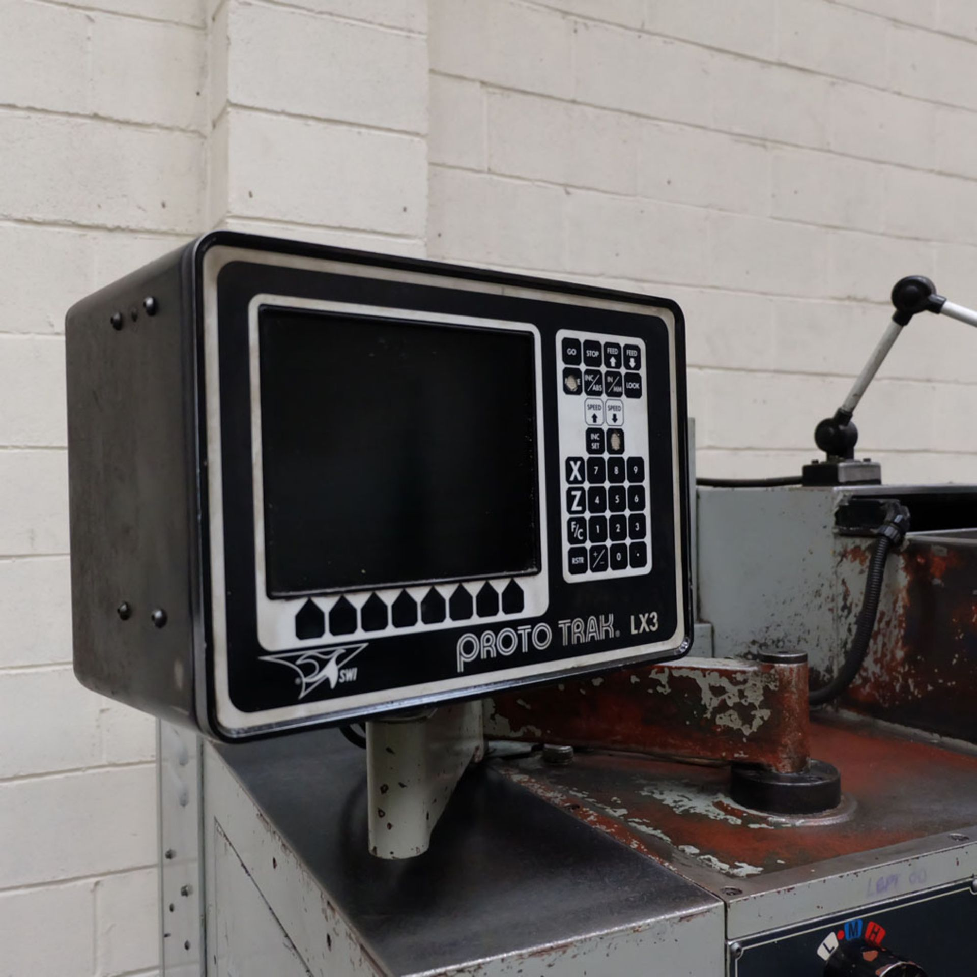 Harrison Alpha 400 CNC Lathe. Swing Over Bed: 400mm. Between Centres: 1250mm. Speeds: 15-2500rpm. - Image 6 of 8