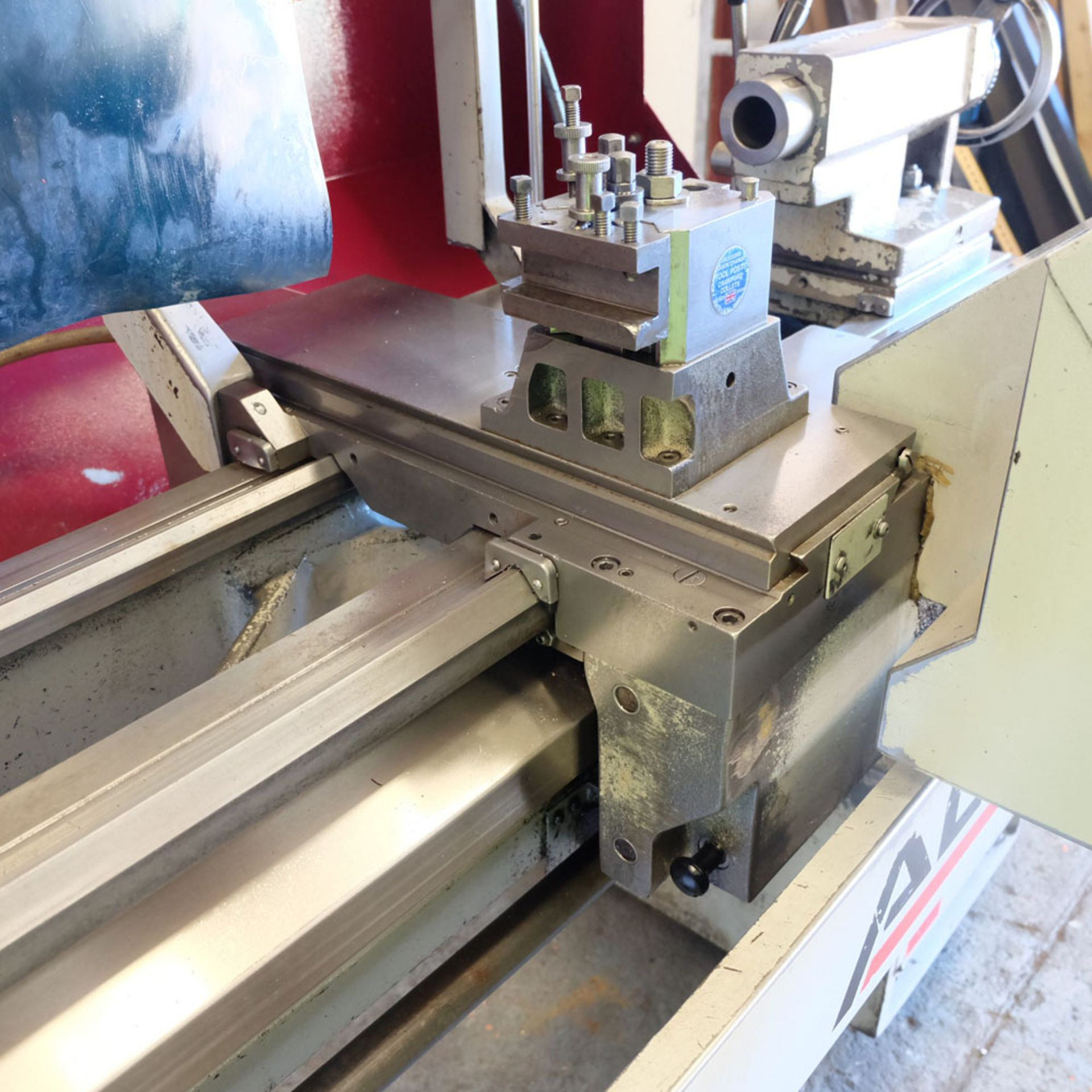 Harrison Alpha 400 CNC Lathe. Swing Over Bed: 400mm. Between Centres: 1250mm. Speeds: 15-2500rpm. - Image 8 of 8