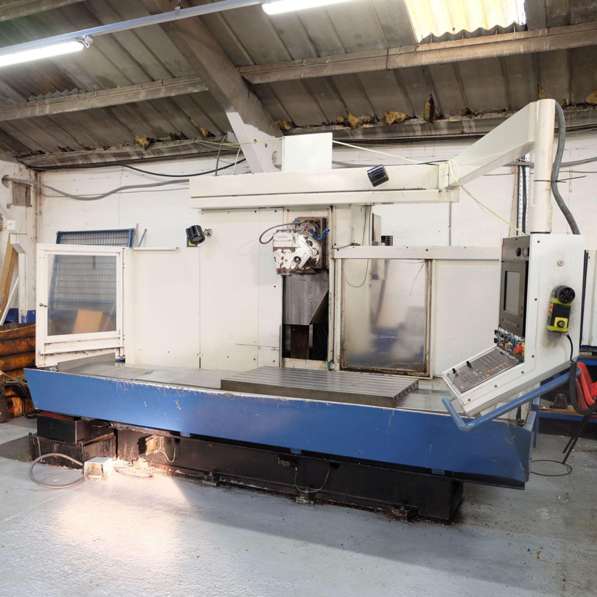 Huron GX 411 F Bed Type Milling Machine. Control Unit: CNC (HEIDENHAIN TNC 415B) - Image 2 of 12