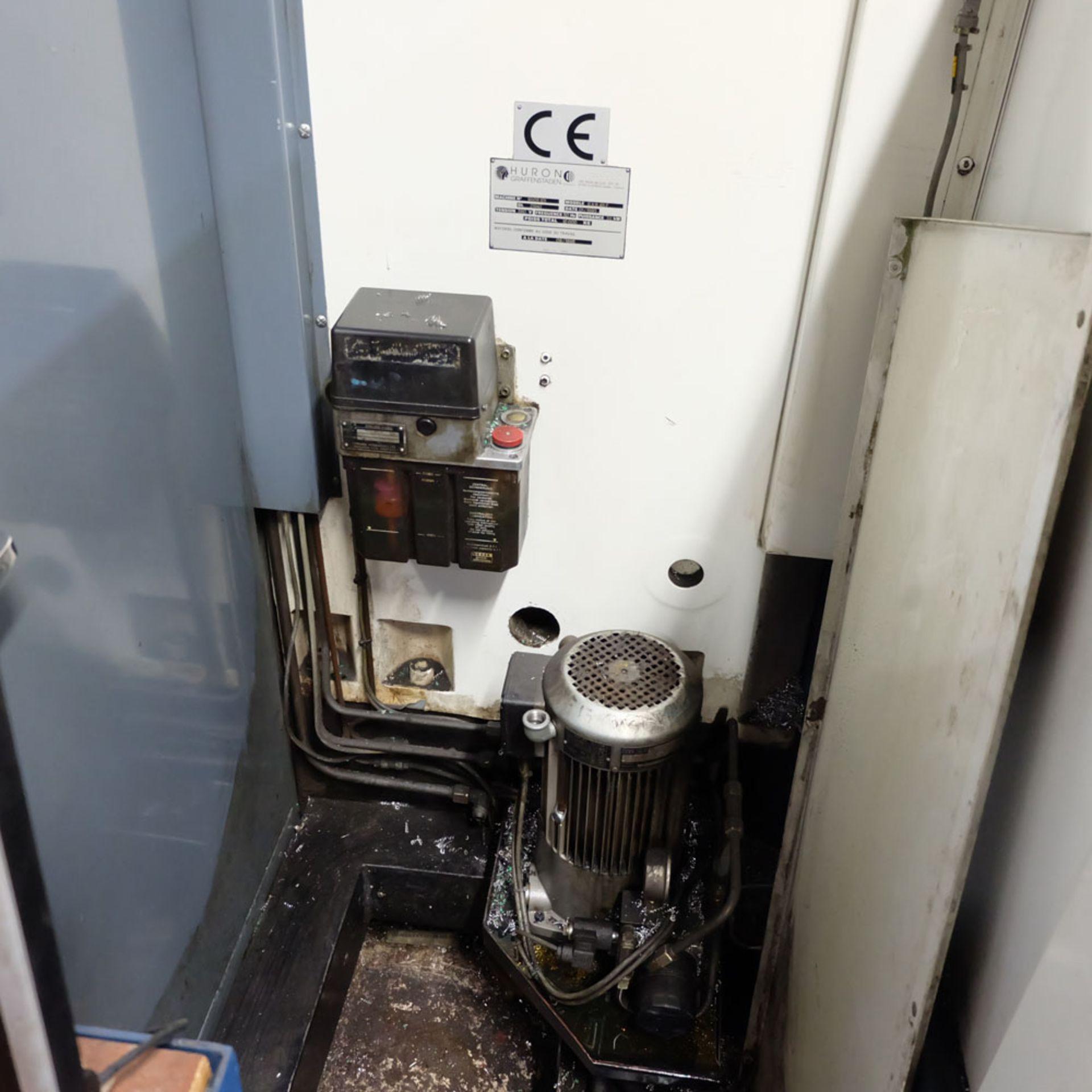 Huron GX 411 F Bed Type Milling Machine. Control Unit: CNC (HEIDENHAIN TNC 415B) - Image 9 of 12