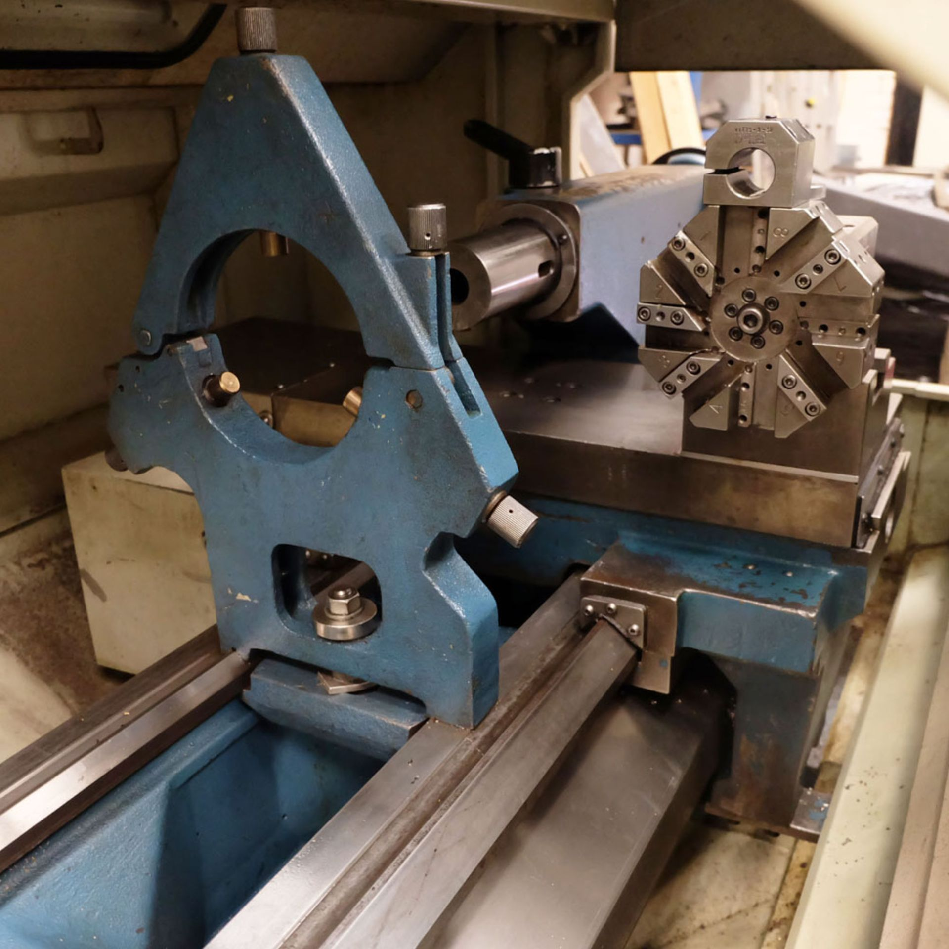"Bridgeport Romi EZ Path IIS V3 CNC Centre Lathe. DX32R 2 Axis Control. Swing Over Bed: 20"". - Image 8 of 9"