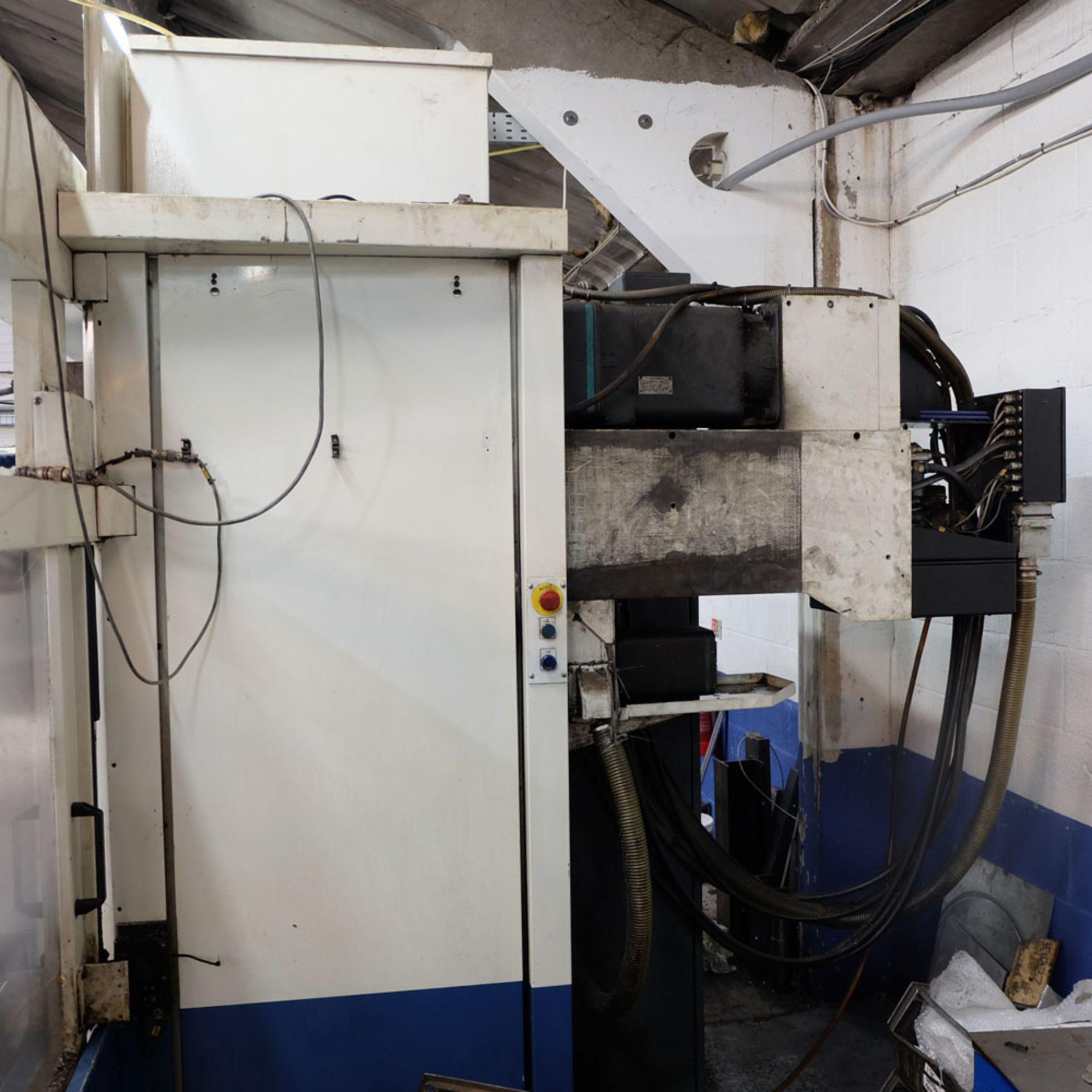 Huron GX 411 F Bed Type Milling Machine. Control Unit: CNC (HEIDENHAIN TNC 415B) - Image 8 of 12