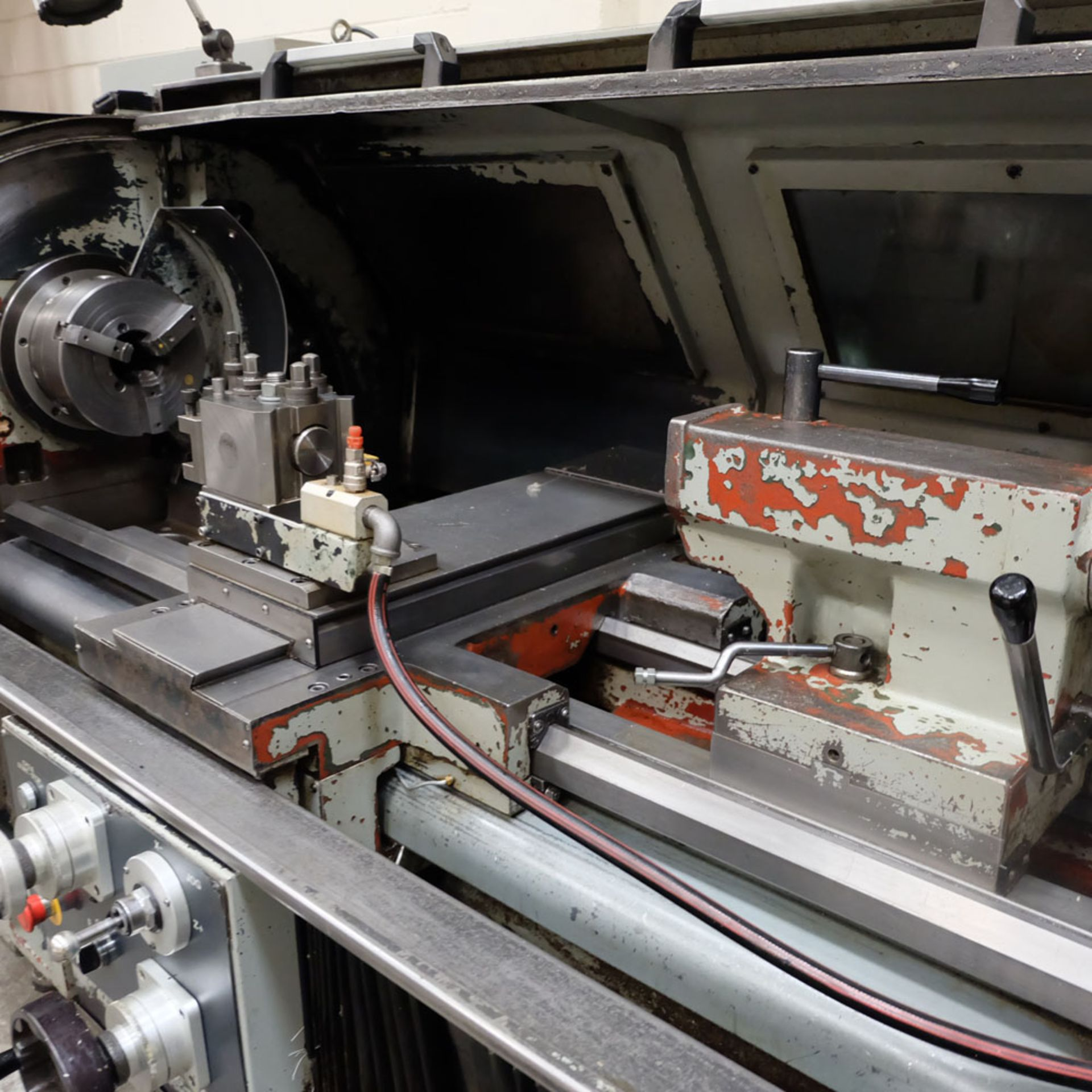 XYZ Proturn 420 Model L480 CNC Lathe with ProtoTrak LX3 Control.Swing Over Bed: 480mm. - Image 3 of 6