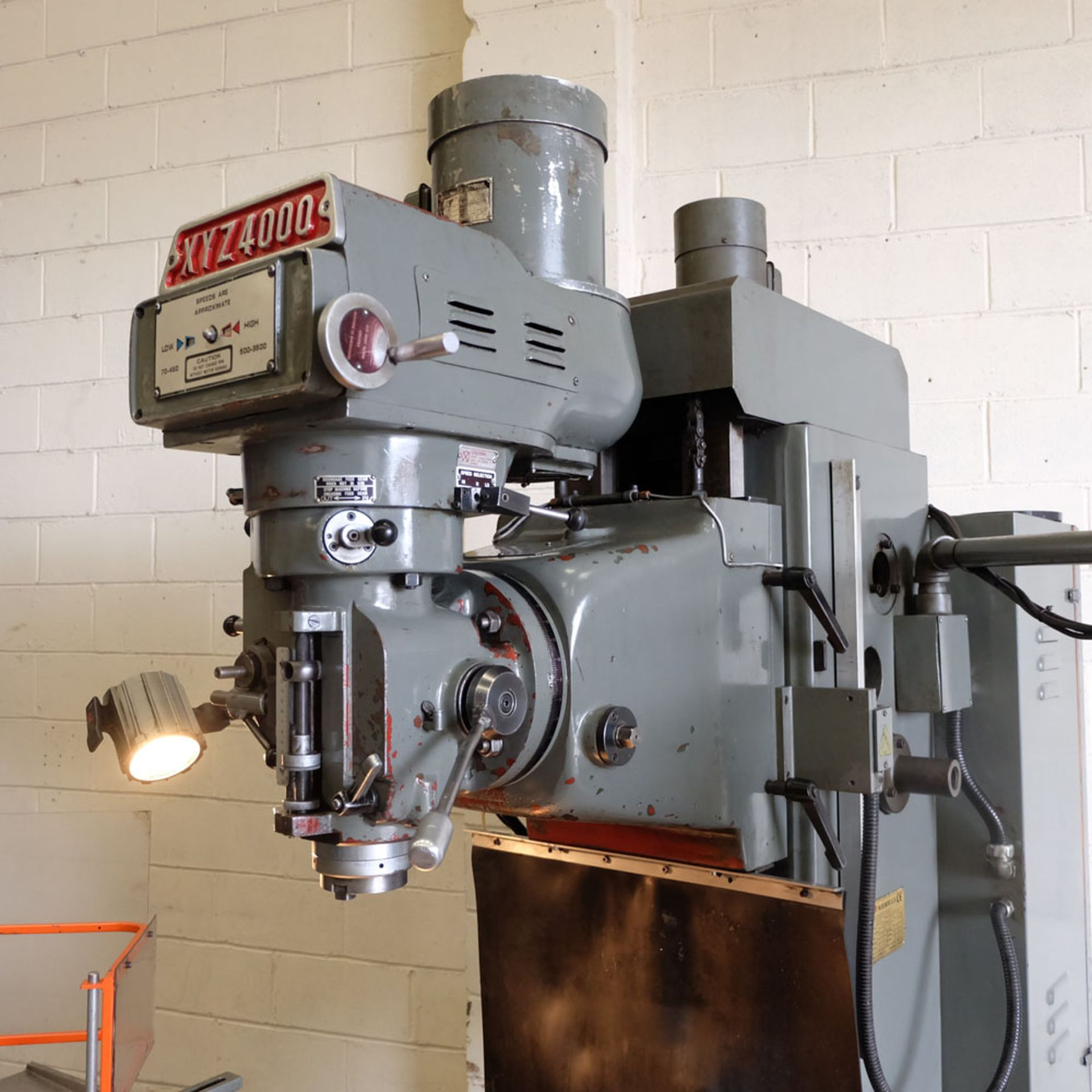 XYZ 4000 Proto Trak MX2 2 Axis CNC Bed Milling Machine. Table Size: 1480mm x 360mm. Taper 40 ISO. - Image 3 of 6