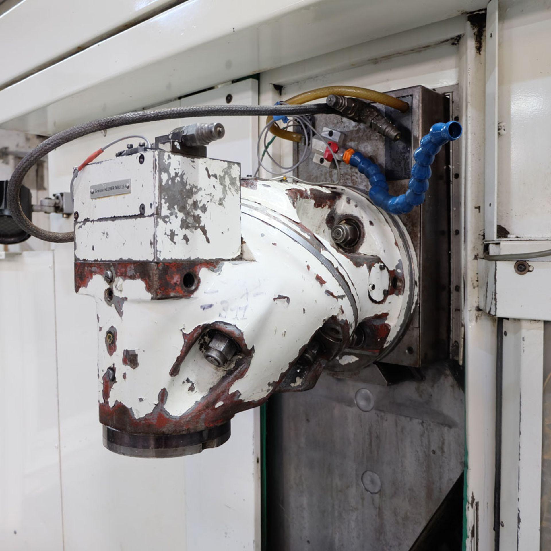 Huron GX 411 F Bed Type Milling Machine. Control Unit: CNC (HEIDENHAIN TNC 415B) - Image 5 of 12
