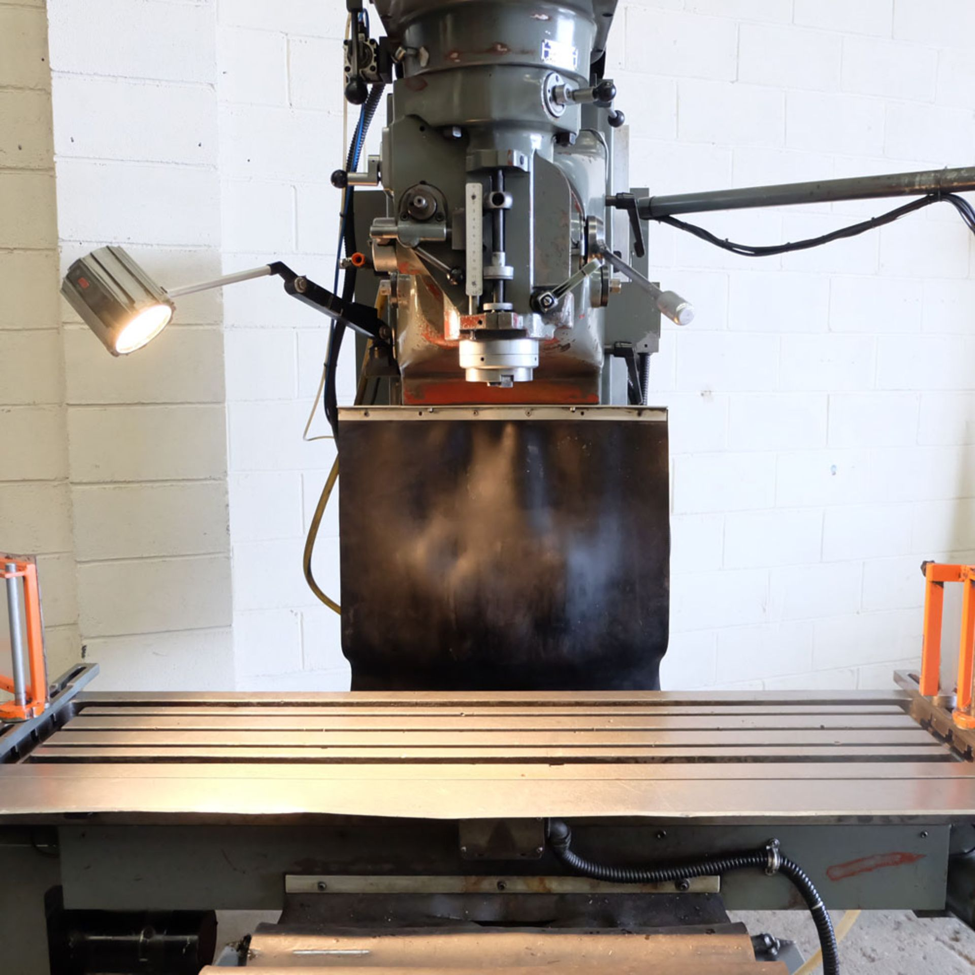 XYZ 4000 Proto Trak MX2 2 Axis CNC Bed Milling Machine. Table Size: 1480mm x 360mm. Taper 40 ISO. - Image 4 of 6
