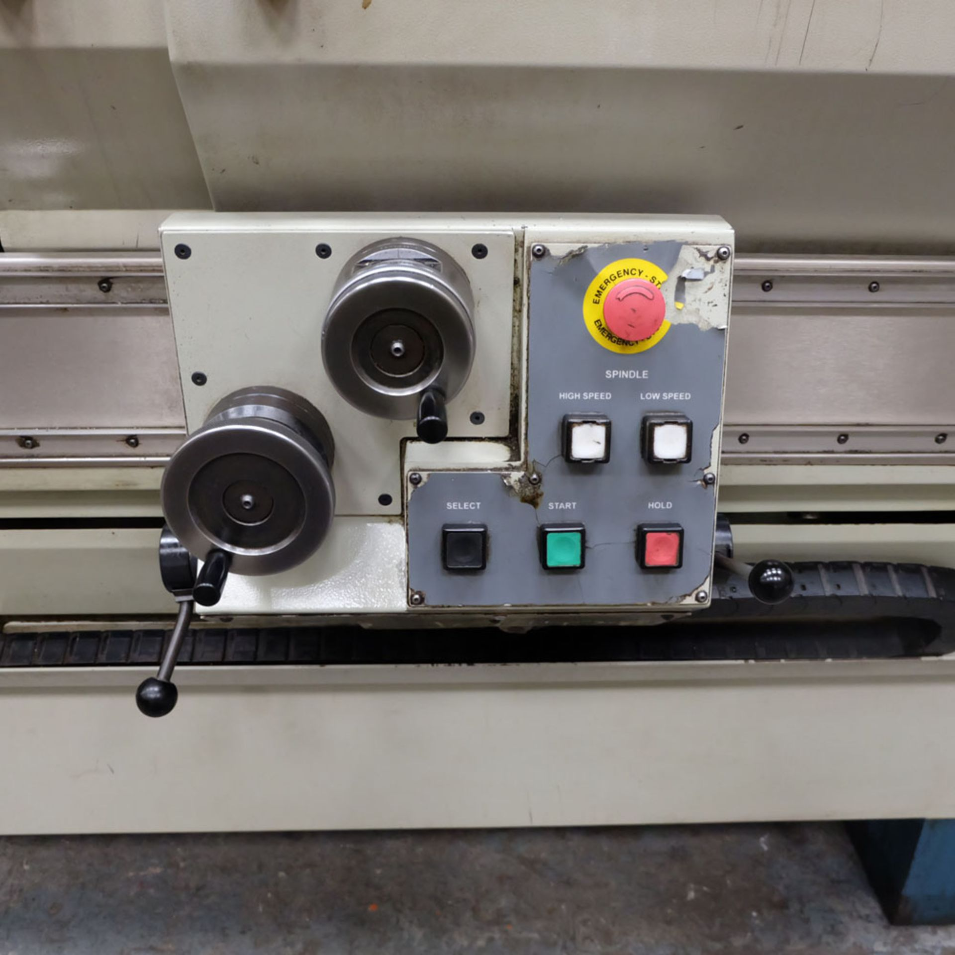 "Bridgeport Romi EZ Path IIS V3 CNC Centre Lathe. DX32R 2 Axis Control. Swing Over Bed: 20"". - Image 5 of 9"