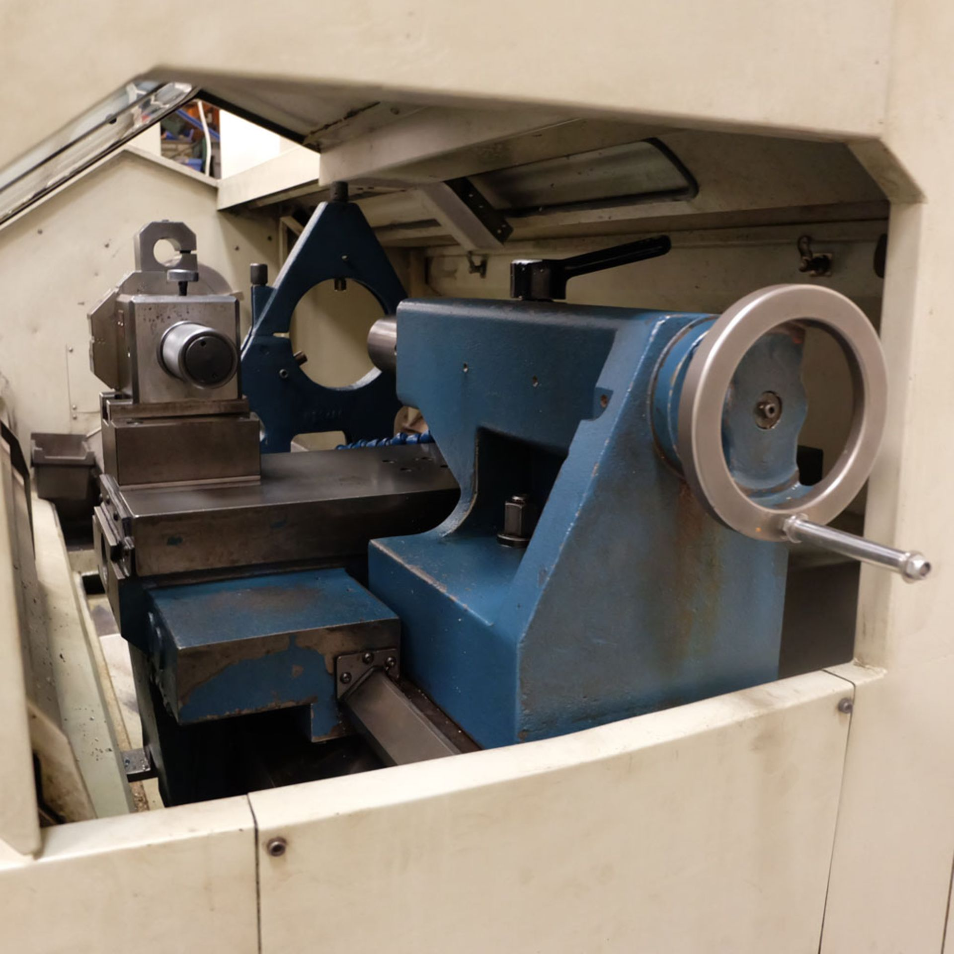 "Bridgeport Romi EZ Path IIS V3 CNC Centre Lathe. DX32R 2 Axis Control. Swing Over Bed: 20"". - Image 7 of 9"