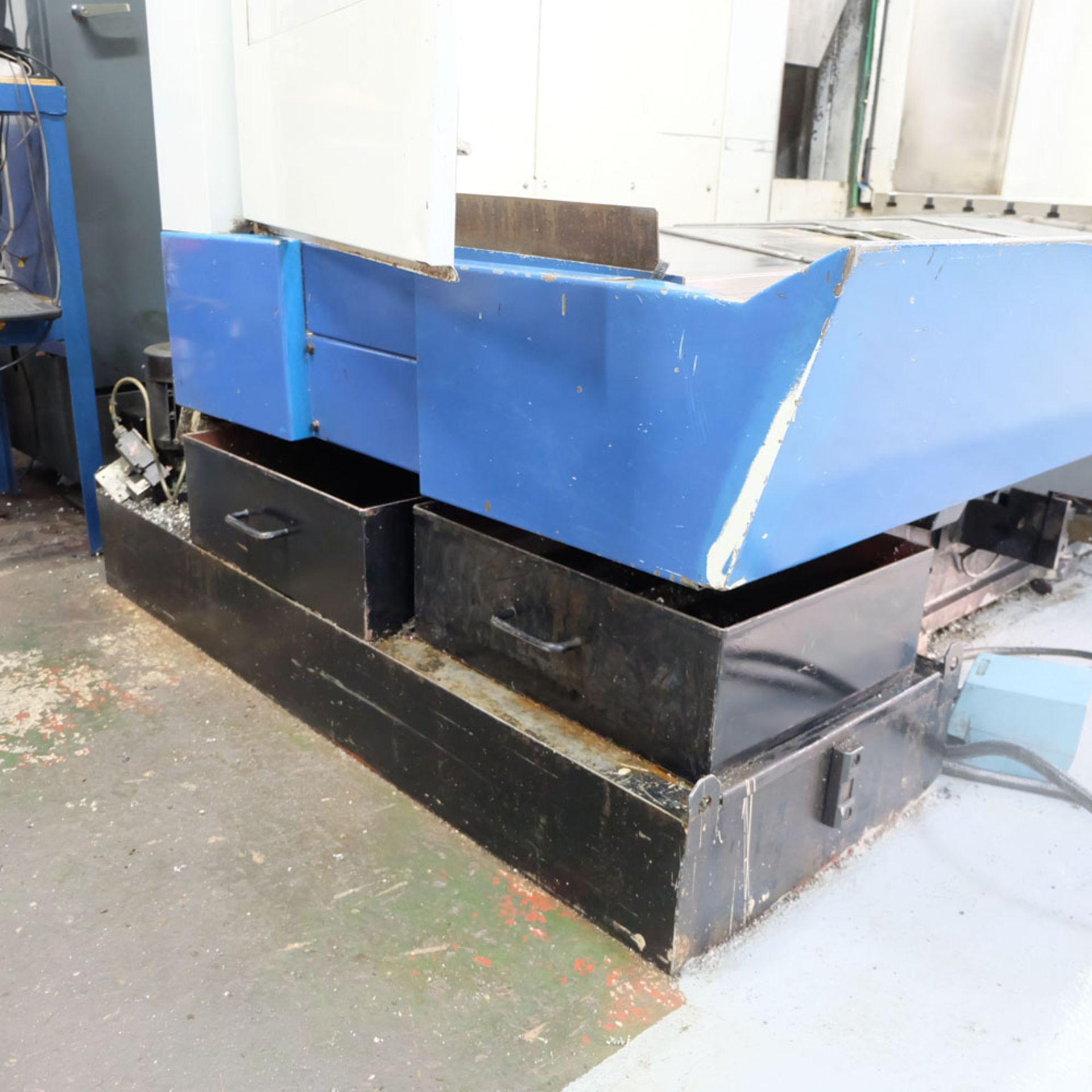 Huron GX 411 F Bed Type Milling Machine. Control Unit: CNC (HEIDENHAIN TNC 415B) - Image 11 of 12