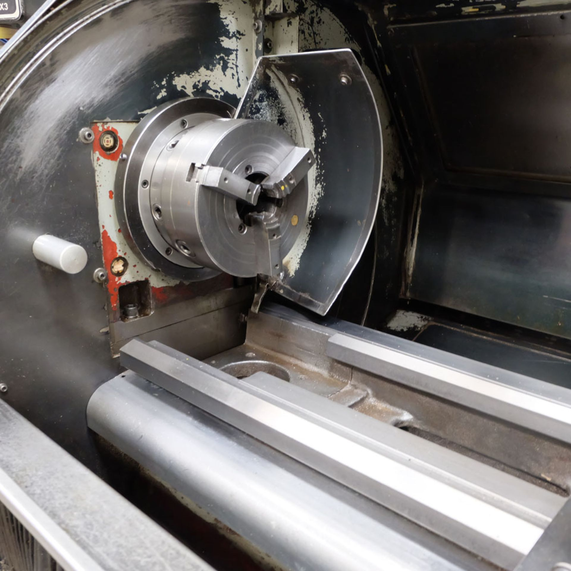 Harrison Alpha 400 CNC Lathe. Swing Over Bed: 400mm. Between Centres: 1250mm. Speeds: 15-2500rpm. - Image 4 of 8