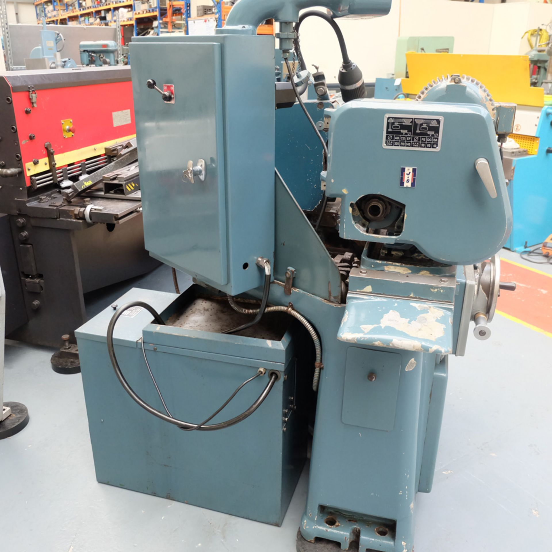 "Jones & Shipman Model 1311 EIU Universal Cylindrical Grinder. Capacity 18"" x 10"". - Image 6 of 12"