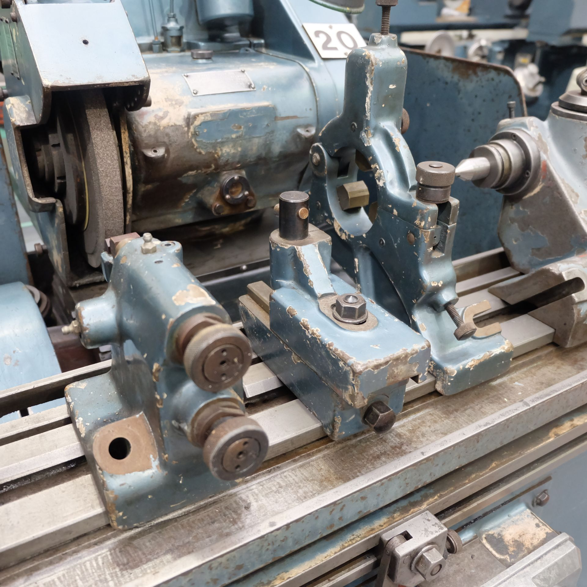 "Jones & Shipman Type 1311 Universal Cylindrical Grinder. 24"" x 10"" Capacity. - Image 7 of 11"