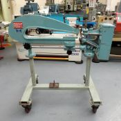 "Frost Type 283 Circle Cutting Machine. Capacity 56"". Throat 28""."