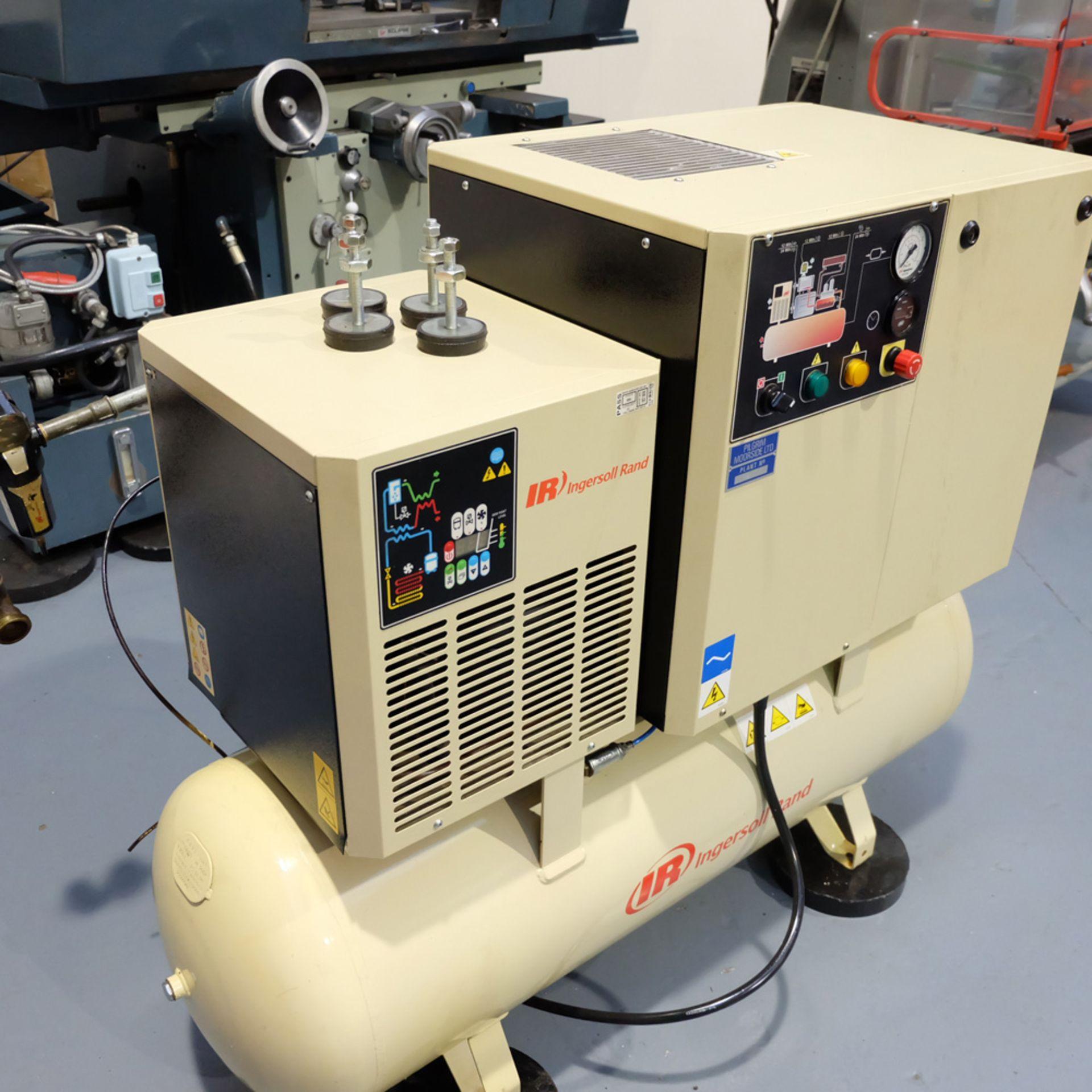 Ingersoll Rand Model R5.5IU D-SD Rotary Air Compressor. Working Pressure 10 Bar. - Image 2 of 9