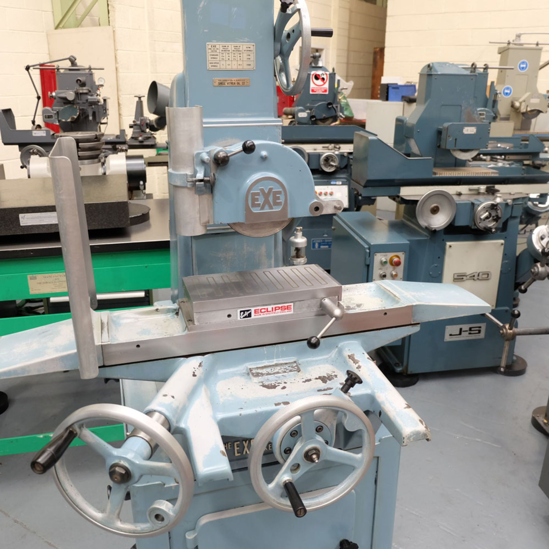 """EXE Toolroom Precision Manual Surface Grinder. Table Capacity 12"""" x 6"""". - Image 2 of 6"""