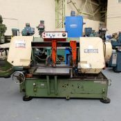 Mega Type H-1830 Semi Automatic Horizontal Bandsaw. Capacity Round 460mm.