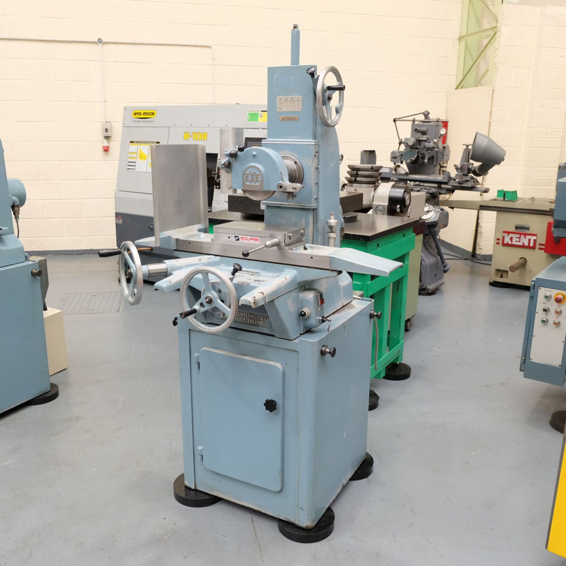 """EXE Toolroom Precision Manual Surface Grinder. Table Capacity 12"""" x 6""""."""
