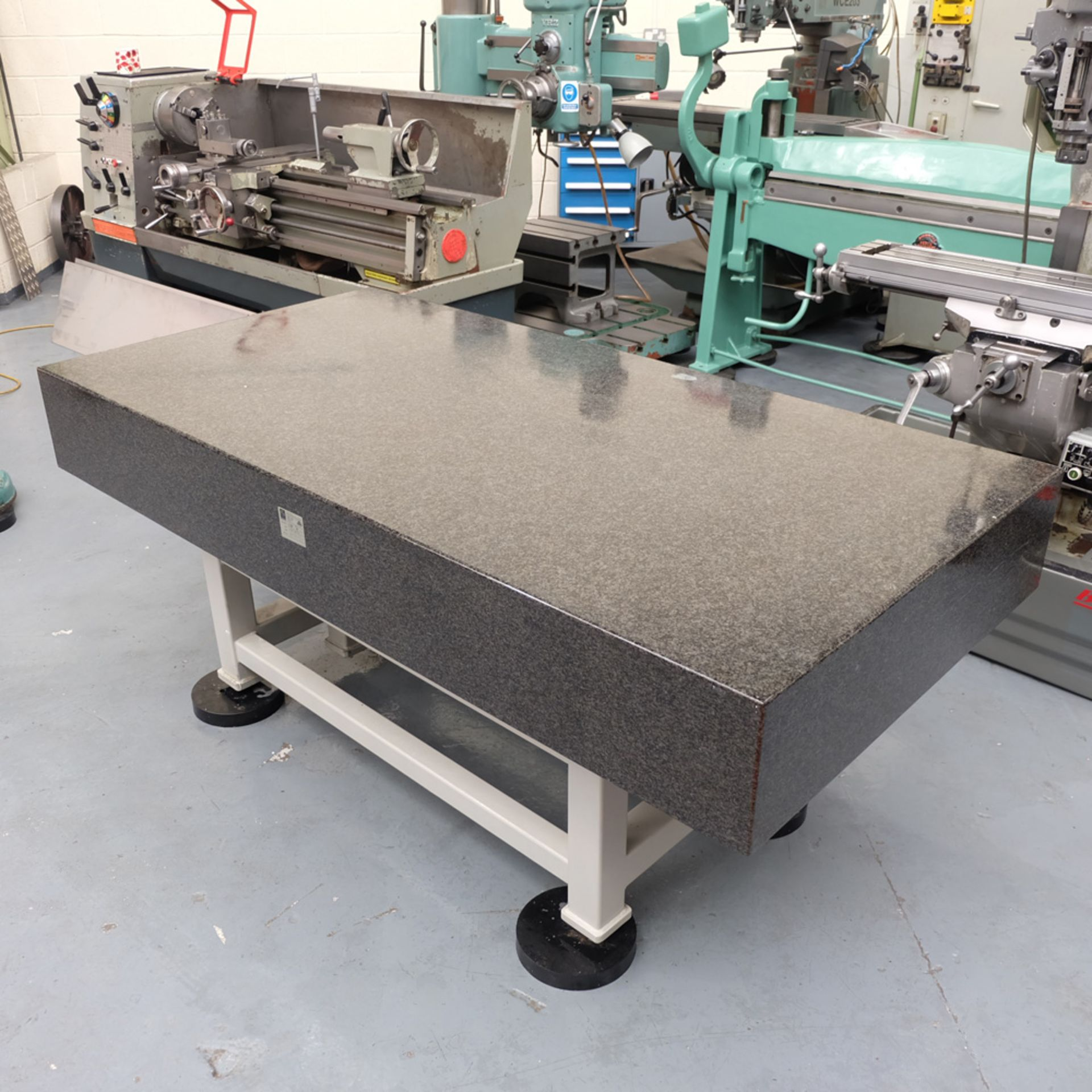 Eley Metrology Granite Surface Table. Table Size 2000mm x 1000mm x 260mm. - Image 2 of 7