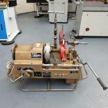 """ASADA / Piset Type 3S-G Pipe Threading Machine. Capacity 3""""."""