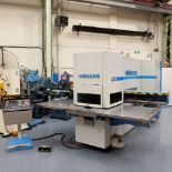 LVD SHAPE Model Delta 1000 Thick CNC Punching Machine.With Fanuc MNC 4000 Control.Capacity: 20 Tons.
