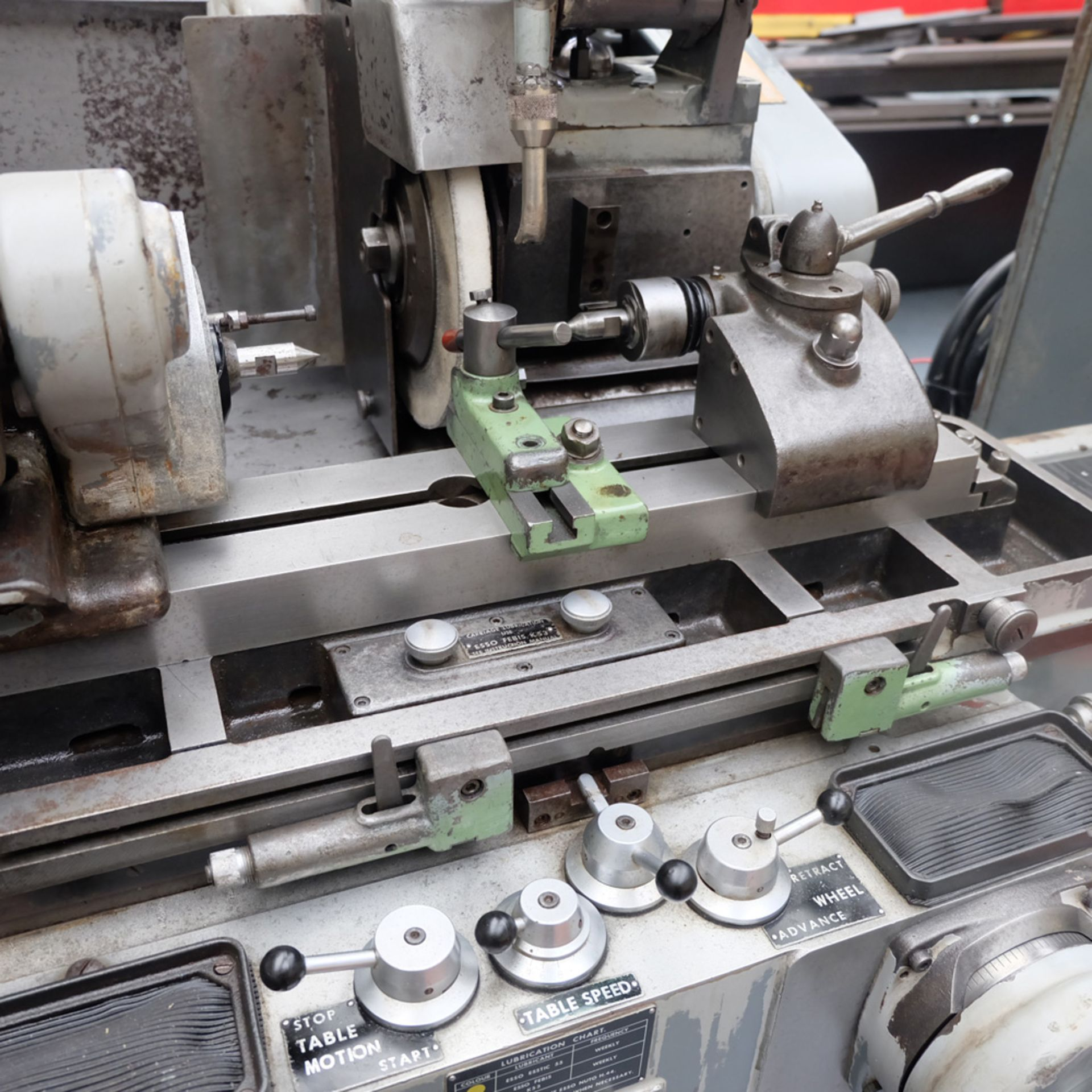 "Myford MG12-HA Hydraulic Cylindrical Grinder. Max Grinding Capacity 3"" Diameter. - Image 3 of 16"