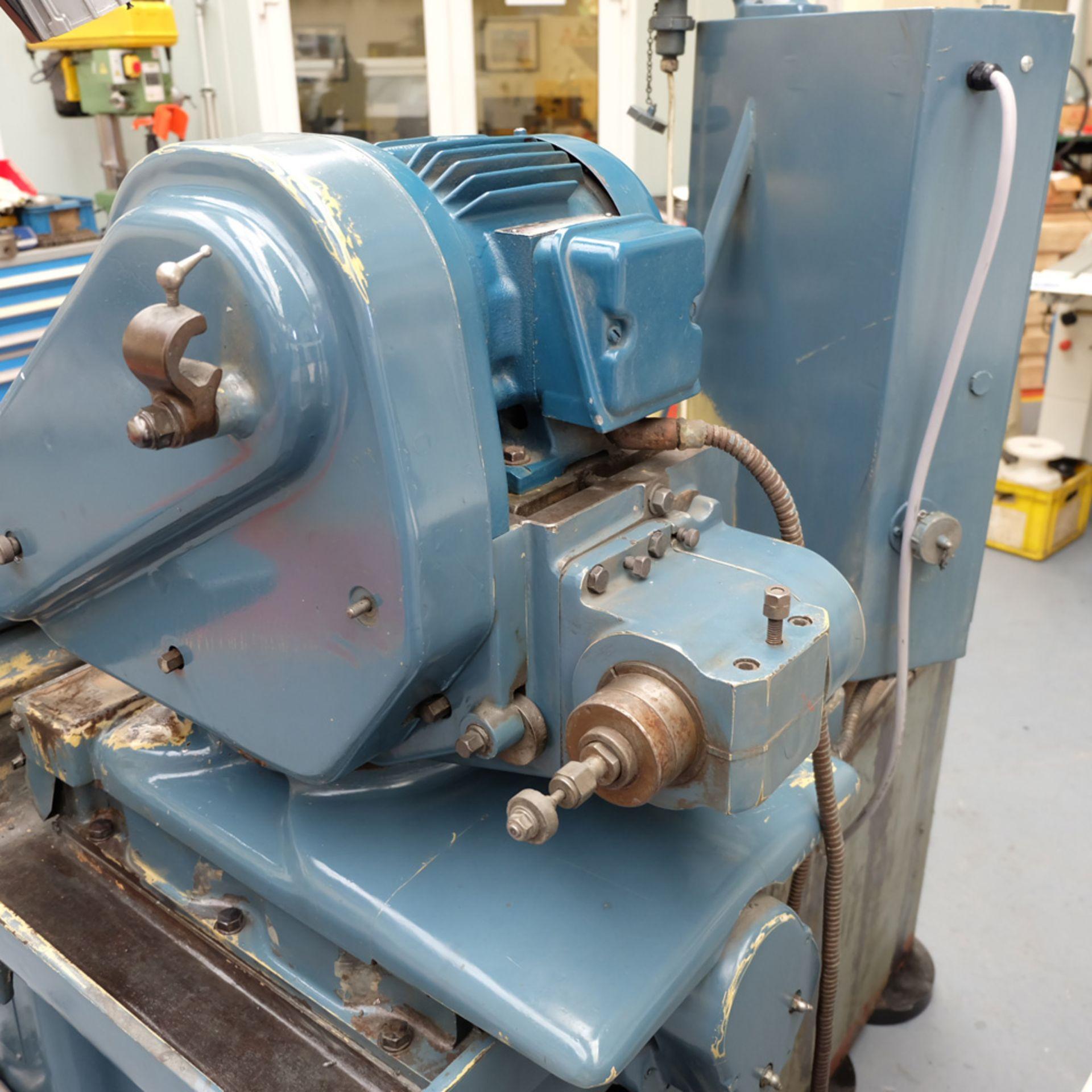 "Jones & Shipman Model 1310 EIU Universal Cylindrical Grinder. Capacity 18"" x 8"". - Image 7 of 11"