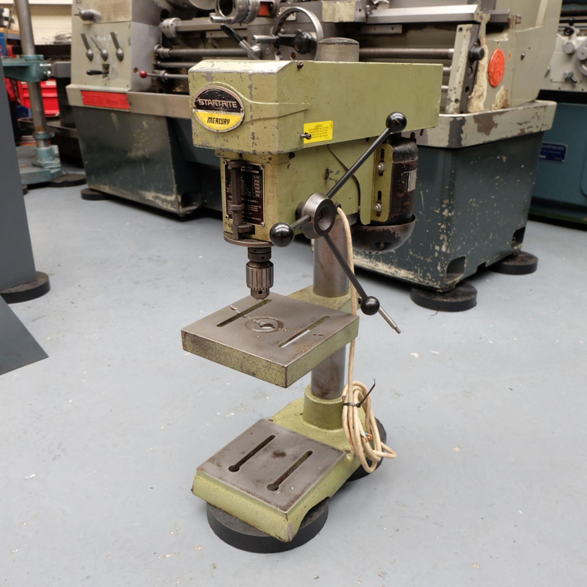 Startrite Mecury 5 Speed Bench Drill. Speeds 530 - 3830rpm. 3 Phase.