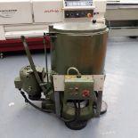 Swarf Oil Spinner. Internal Drum Size 300mm Diameter.
