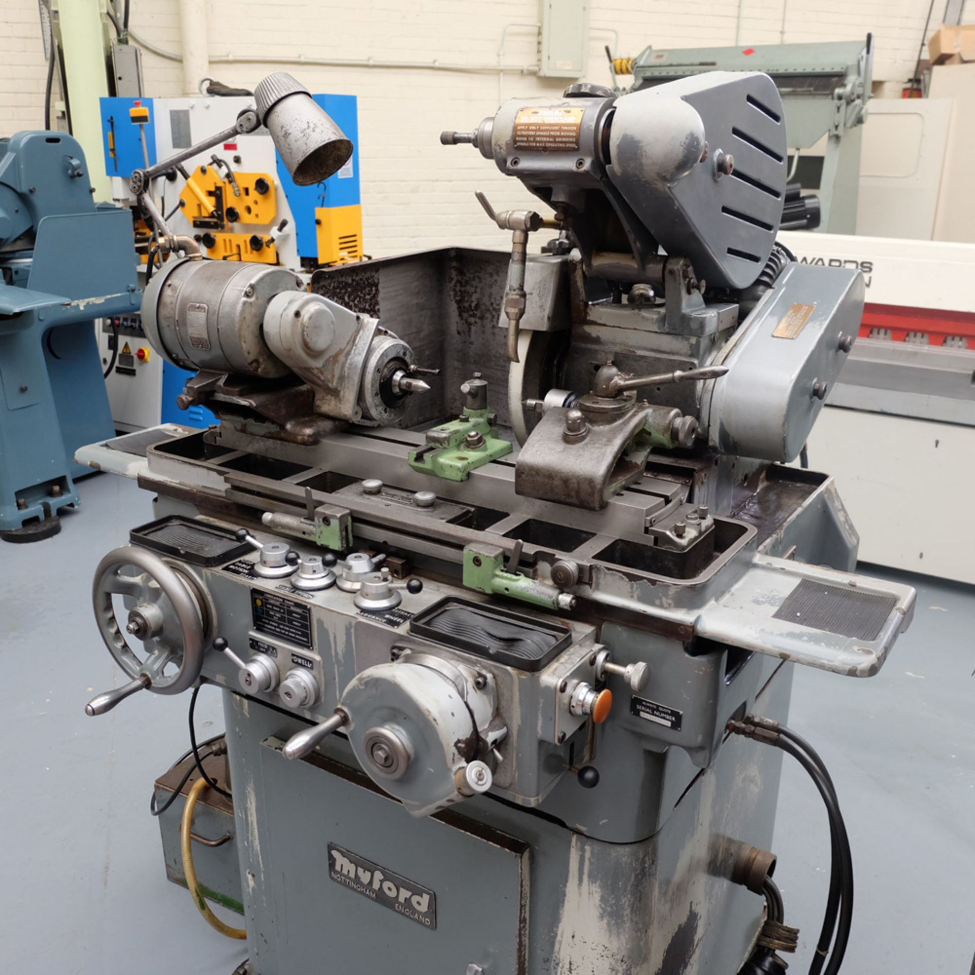 "Myford MG12-HA Hydraulic Cylindrical Grinder. Max Grinding Capacity 3"" Diameter. - Image 2 of 16"