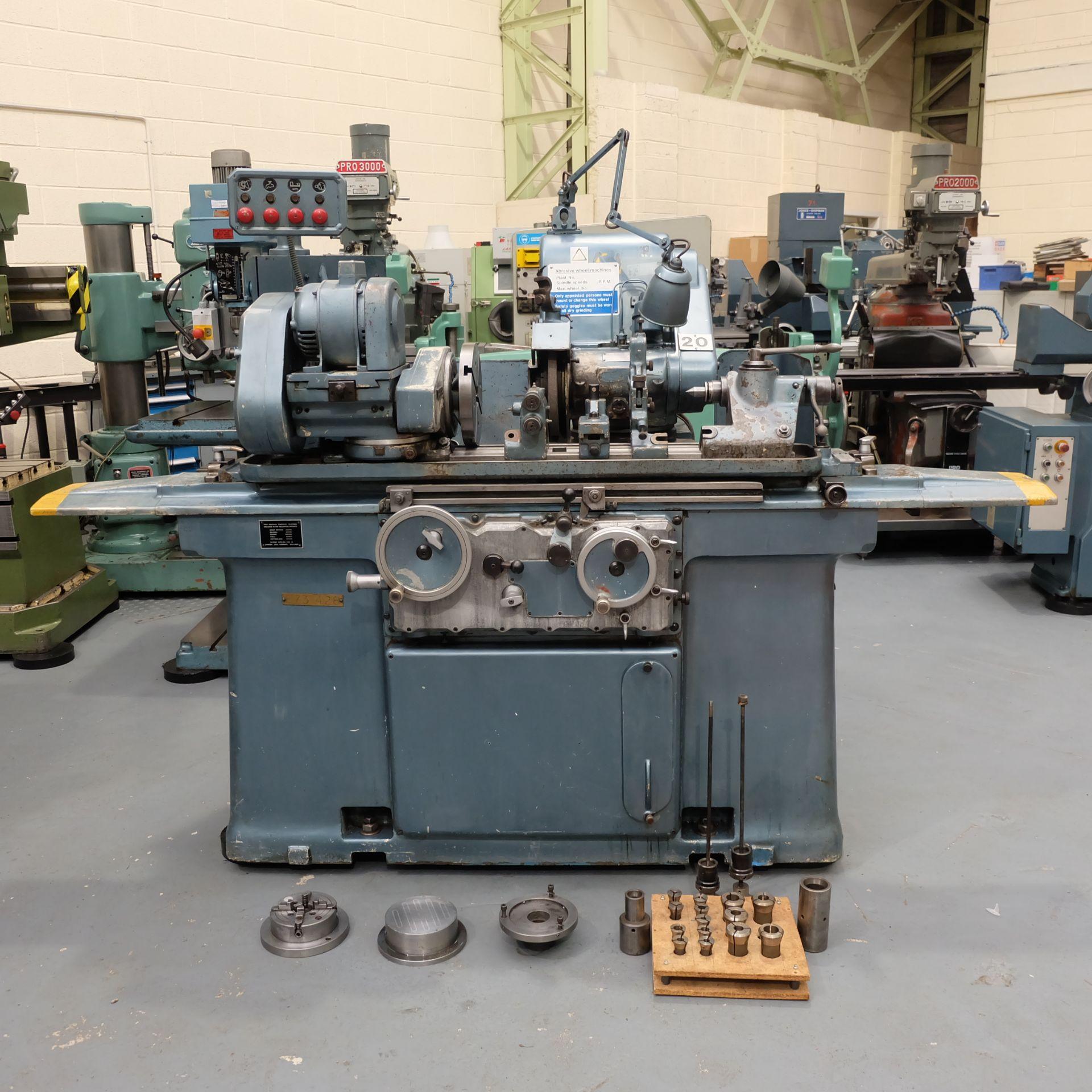 "Jones & Shipman Type 1311 Universal Cylindrical Grinder. 24"" x 10"" Capacity. - Image 2 of 11"