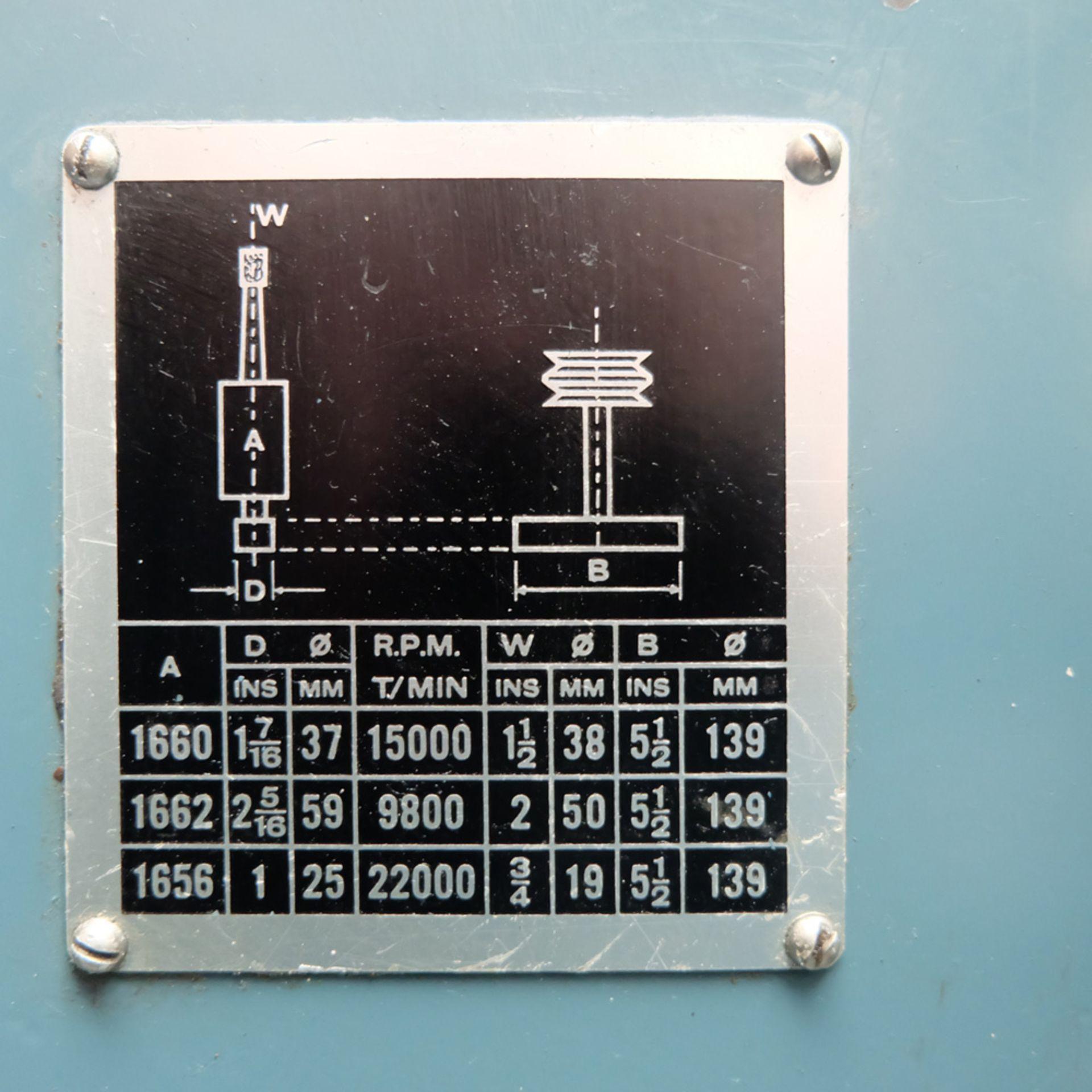 "Jones & Shipman Model 1311 EIU Universal Cylindrical Grinder. Capacity 18"" x 10"". - Image 8 of 12"