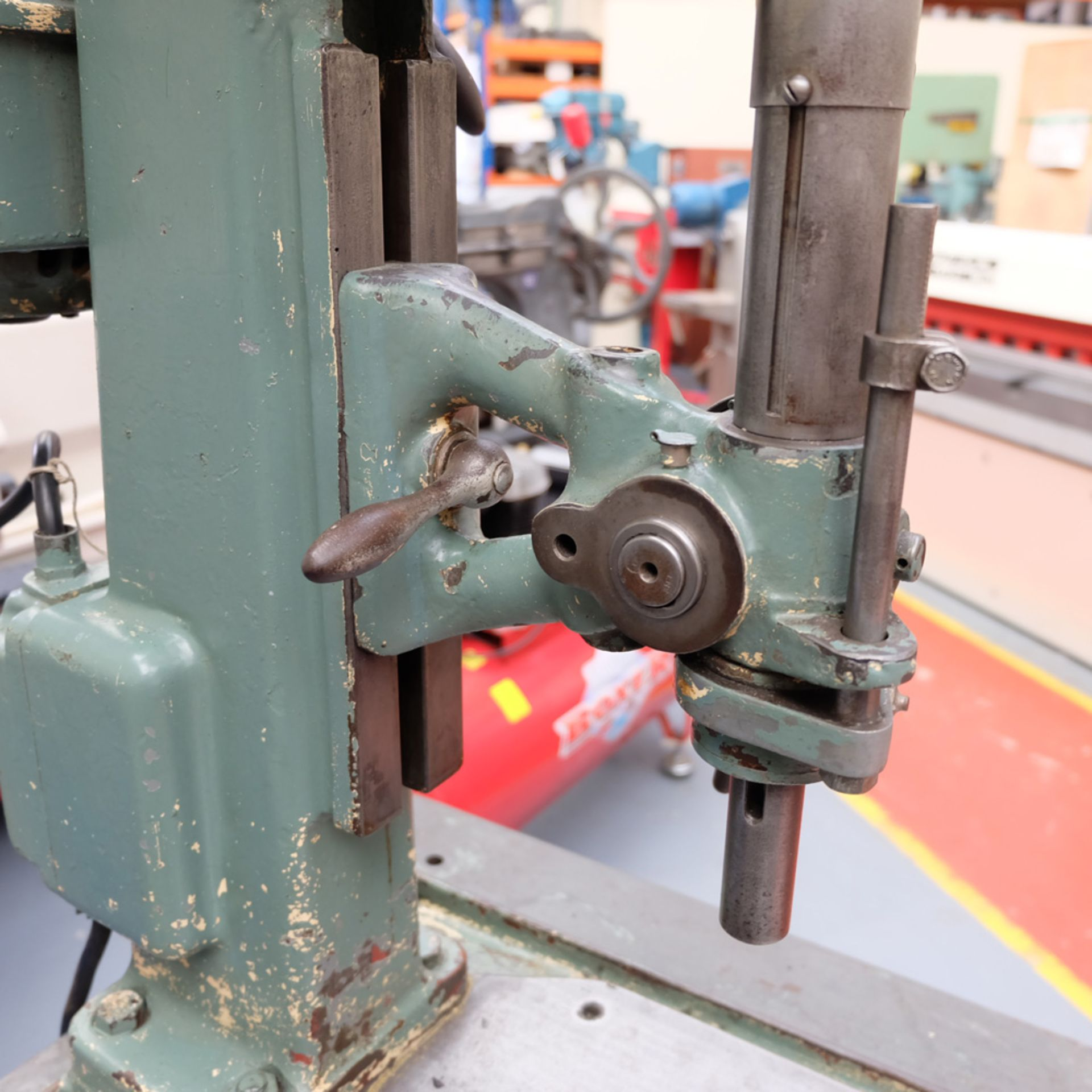 Pollard Corona Model 1FX Bench Drilling Machine. Throat 150mm. Spindle Speeds 500 - 1500rpm. - Image 4 of 7