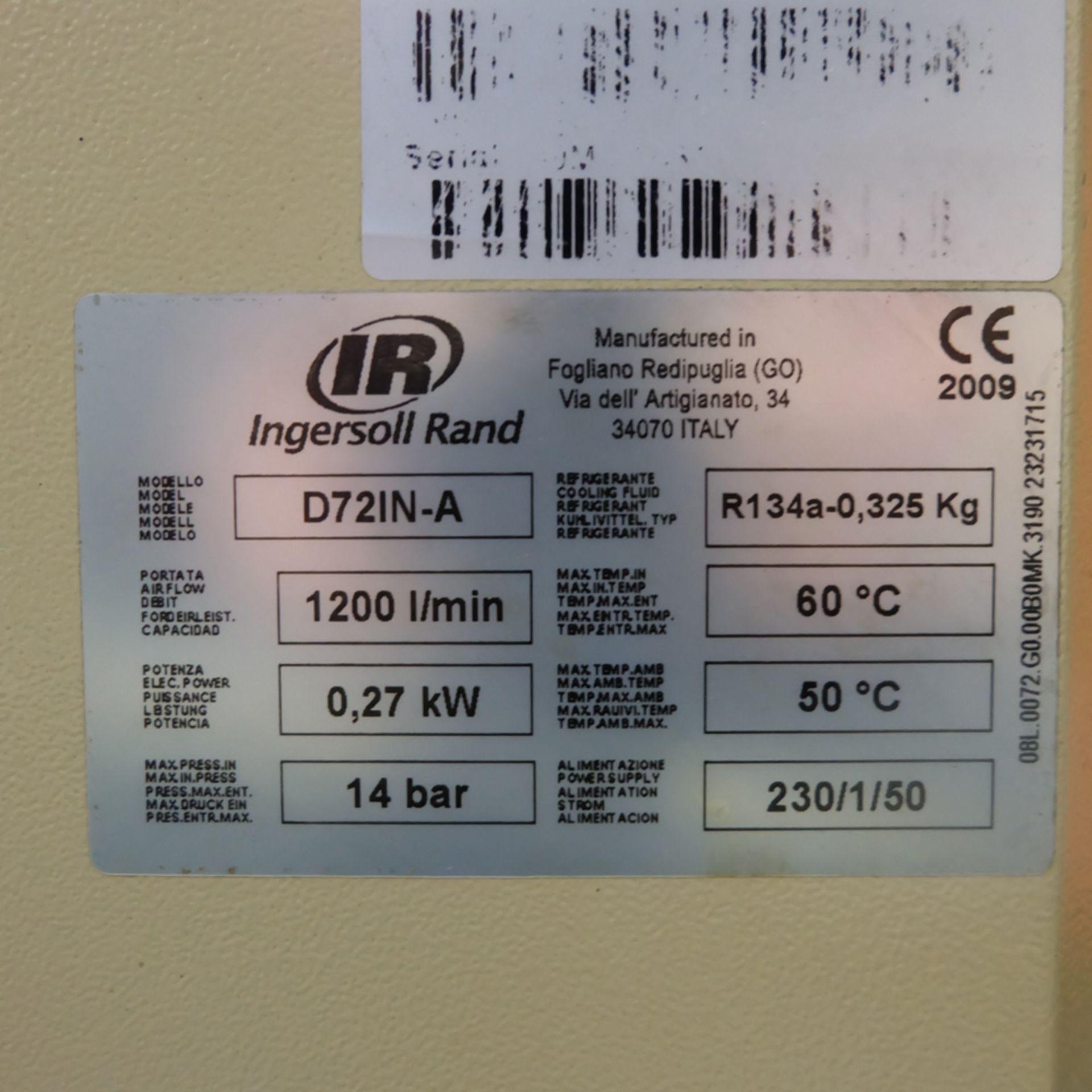 Ingersoll Rand Model R5.5IU D-SD Rotary Air Compressor. Working Pressure 10 Bar. - Image 8 of 9