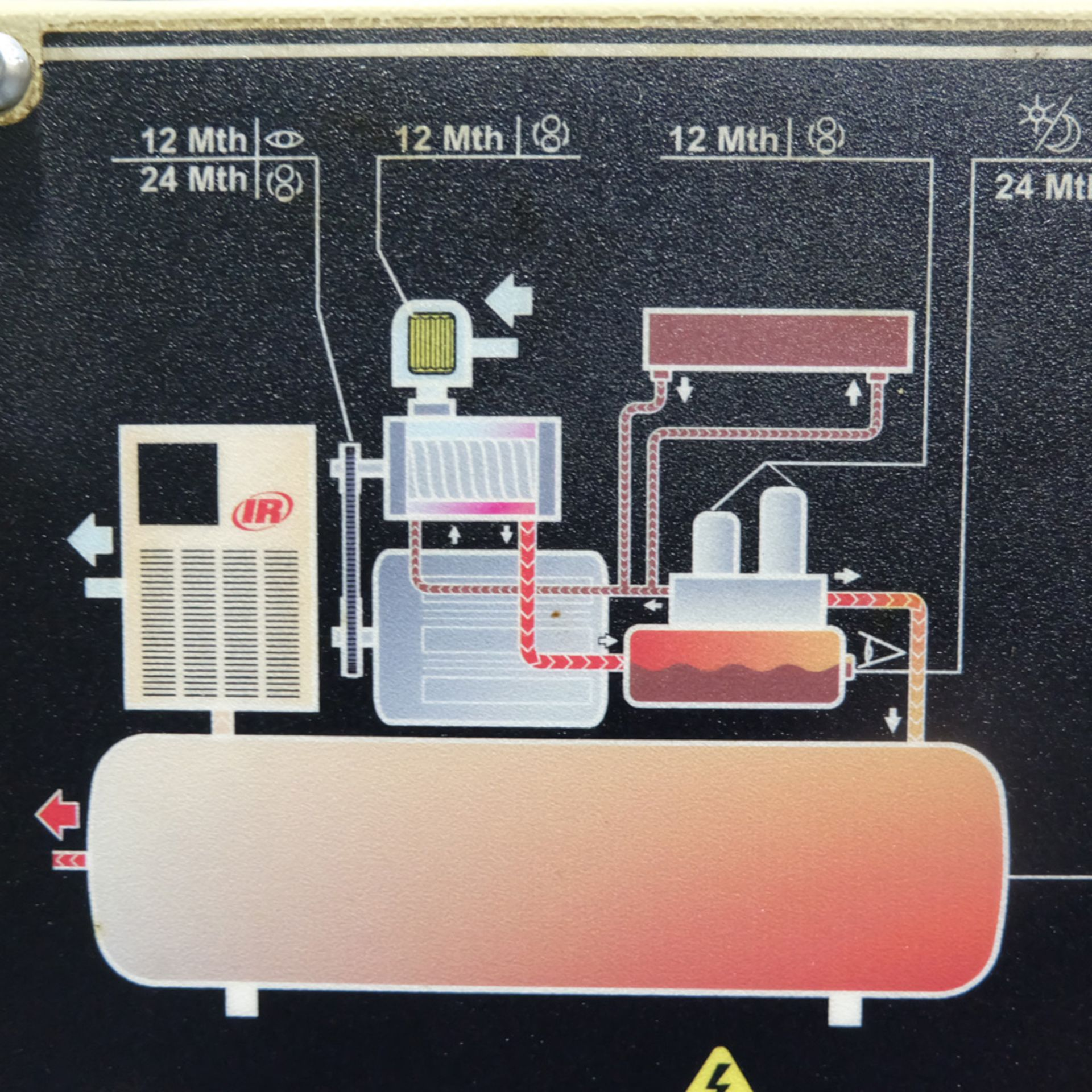Ingersoll Rand Model R5.5IU D-SD Rotary Air Compressor. Working Pressure 10 Bar. - Image 4 of 9