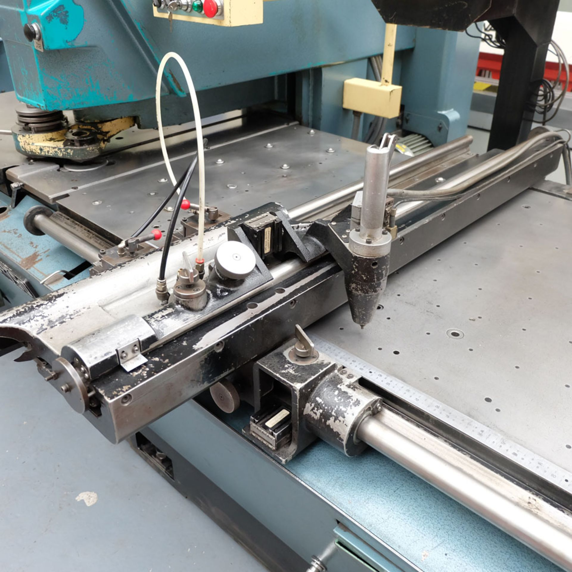 Amada D-750 Duplicator Punching Machine with Tooling and Digital Readout. - Image 5 of 8
