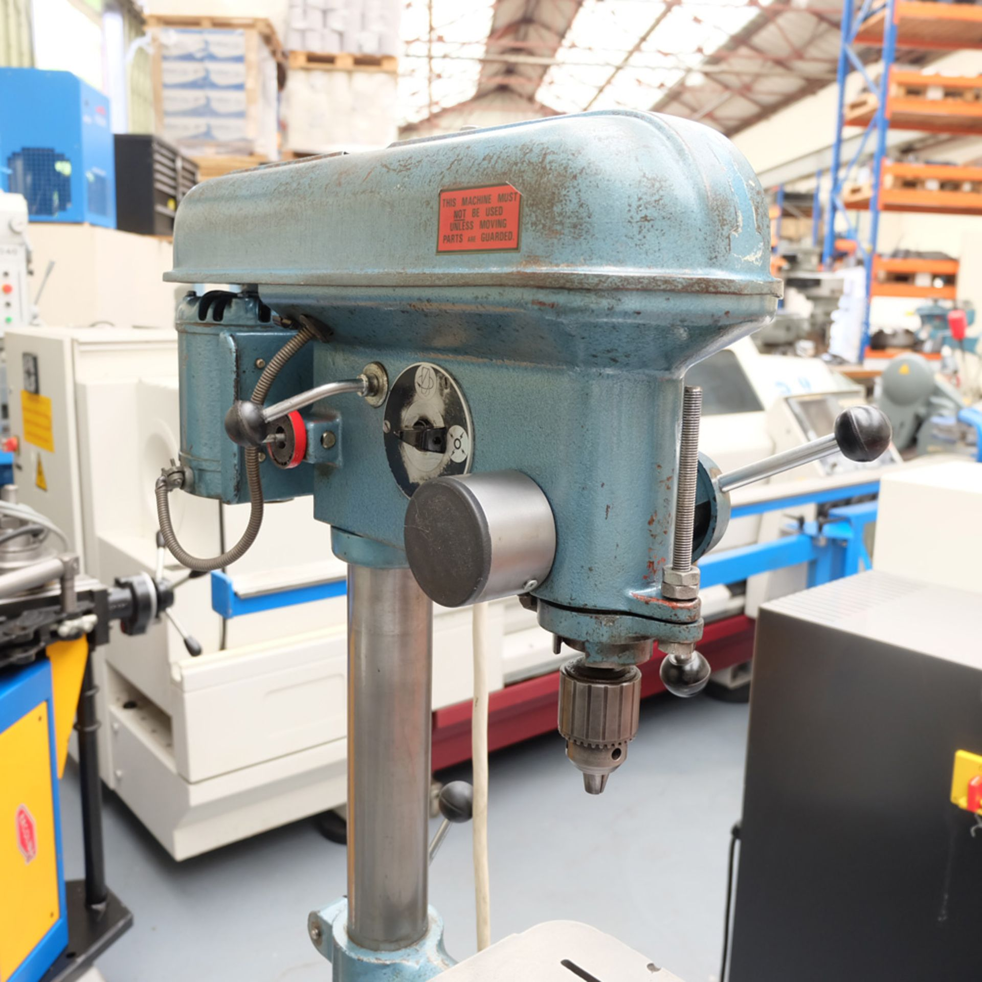 "Meddings LF1 Pillar Drill. Capacity 1/2"". 5 Speeds 500 - 4000rpm. - Image 3 of 6"