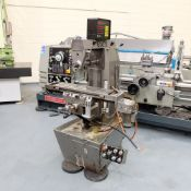 Viceroy Type AEW Horizon Horizontal Milling Machine. Taper 30 ISO. 2 Axis Digital Readout.