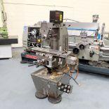 Viceroy Type AEW Horizon Horizontal Milling Machine. Taper 30 ISO. 2 Axis Digital Readout.