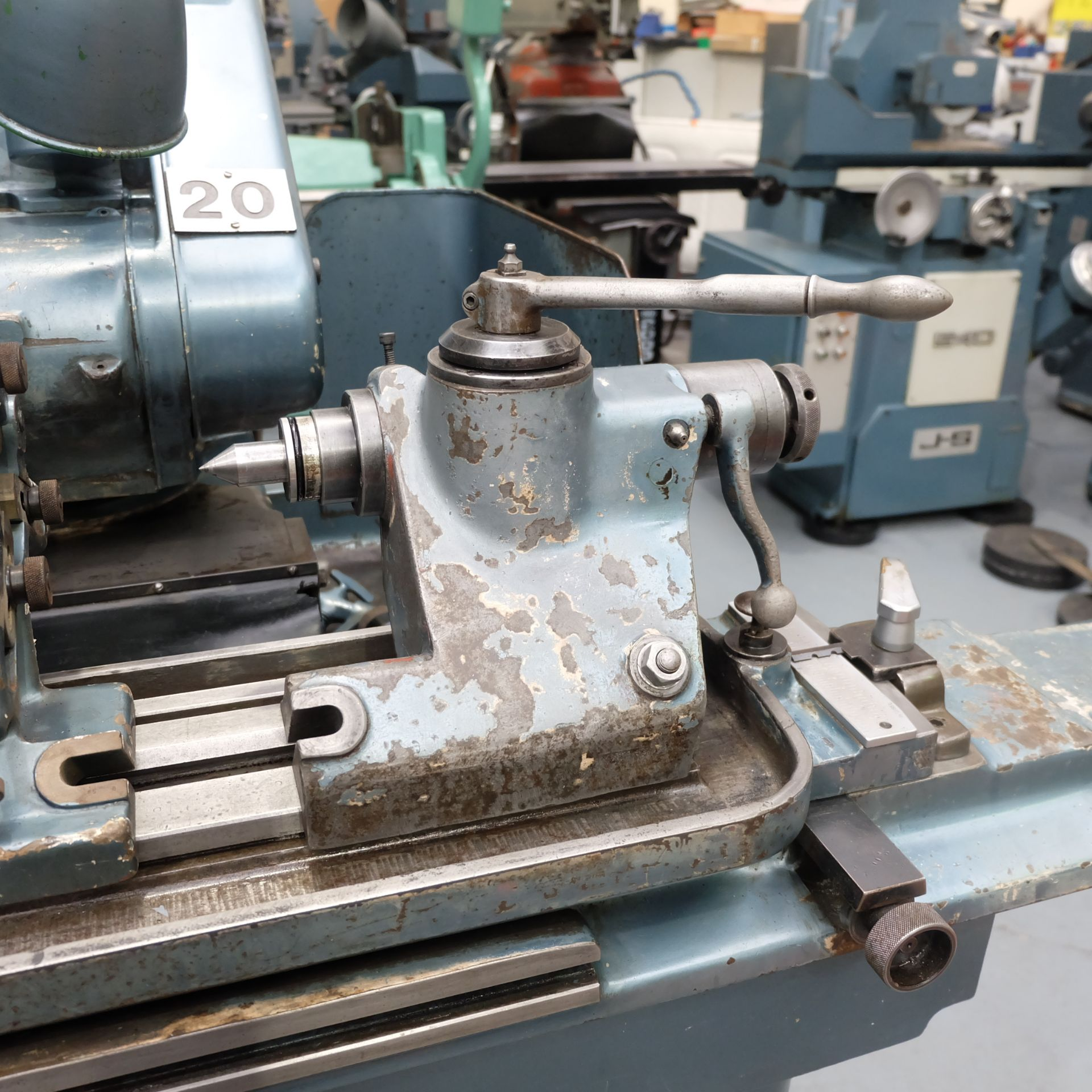 "Jones & Shipman Type 1311 Universal Cylindrical Grinder. 24"" x 10"" Capacity. - Image 4 of 11"