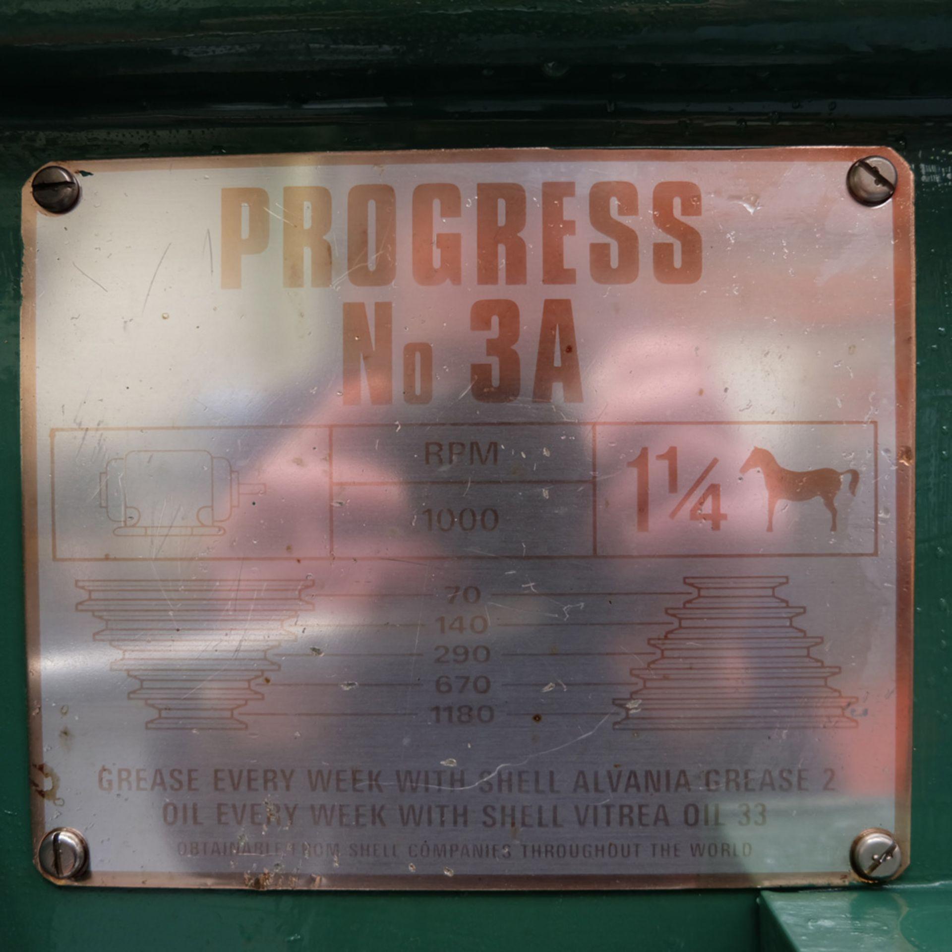 Elliott Progress 3A Heavy Duty Pillar Drill. Spindle Taper No.3 Morse. - Image 5 of 9