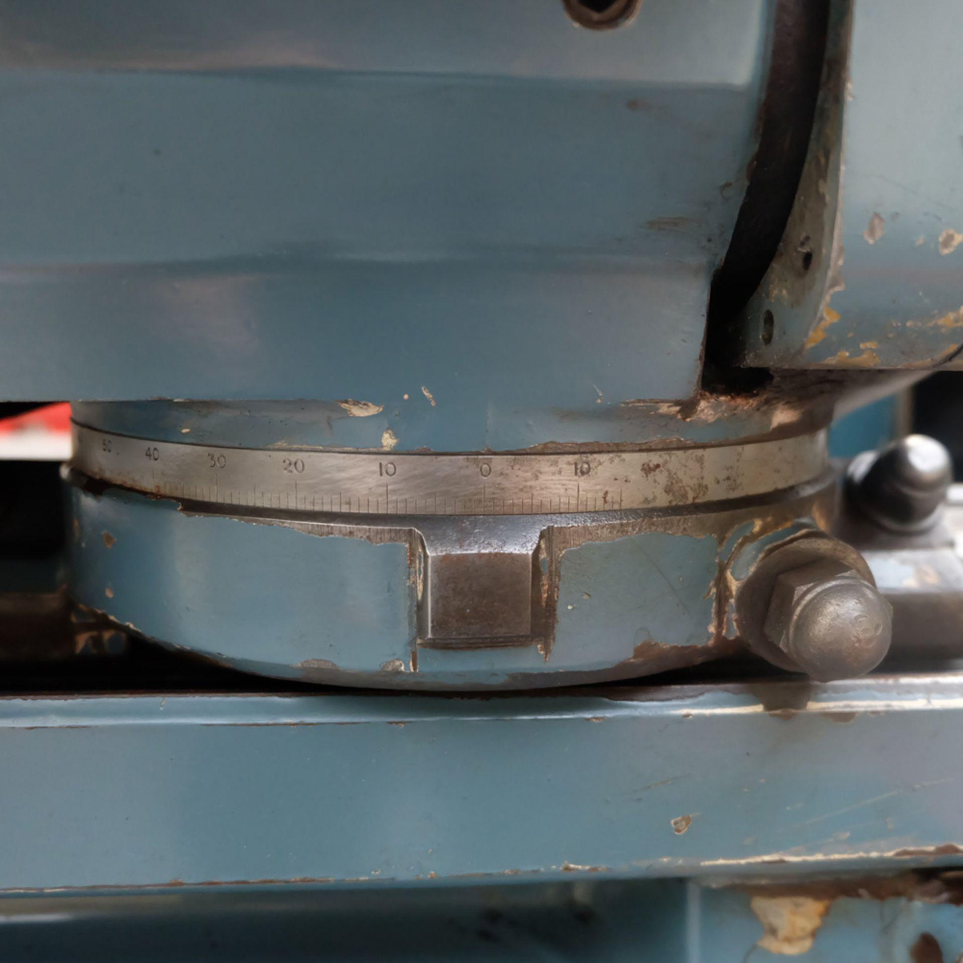 "Jones & Shipman Model 1311 EIU Universal Cylindrical Grinder. Capacity 18"" x 10"". - Image 11 of 12"