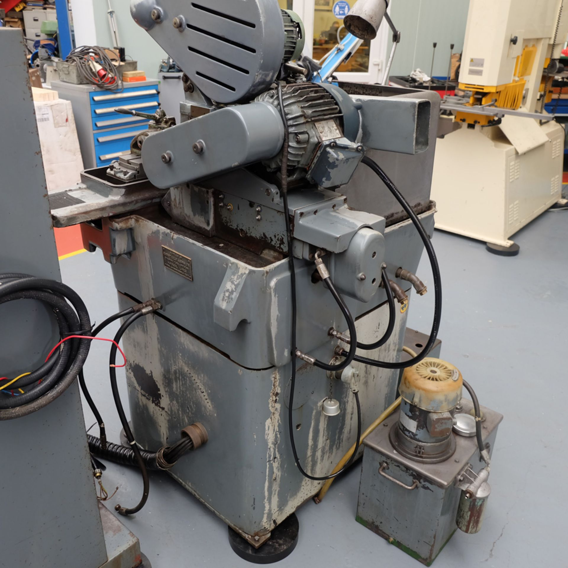 "Myford MG12-HA Hydraulic Cylindrical Grinder. Max Grinding Capacity 3"" Diameter. - Image 9 of 16"