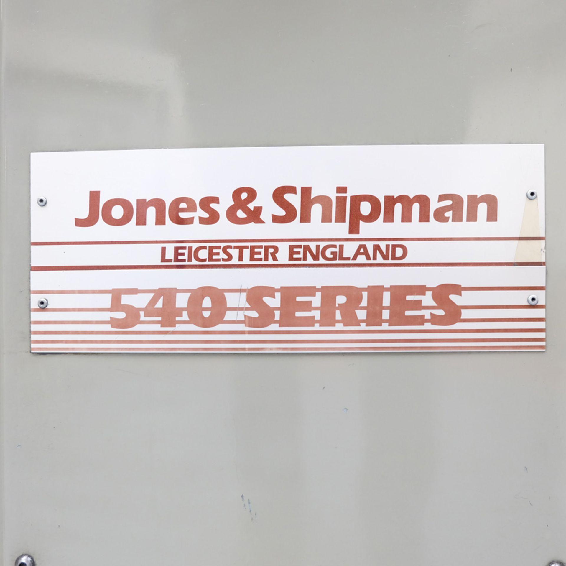 "Jones & Shipman 540L Long Column Surface Grinder. Capacity 18"" x 6"". Vertical Movement 16"". - Image 7 of 13"
