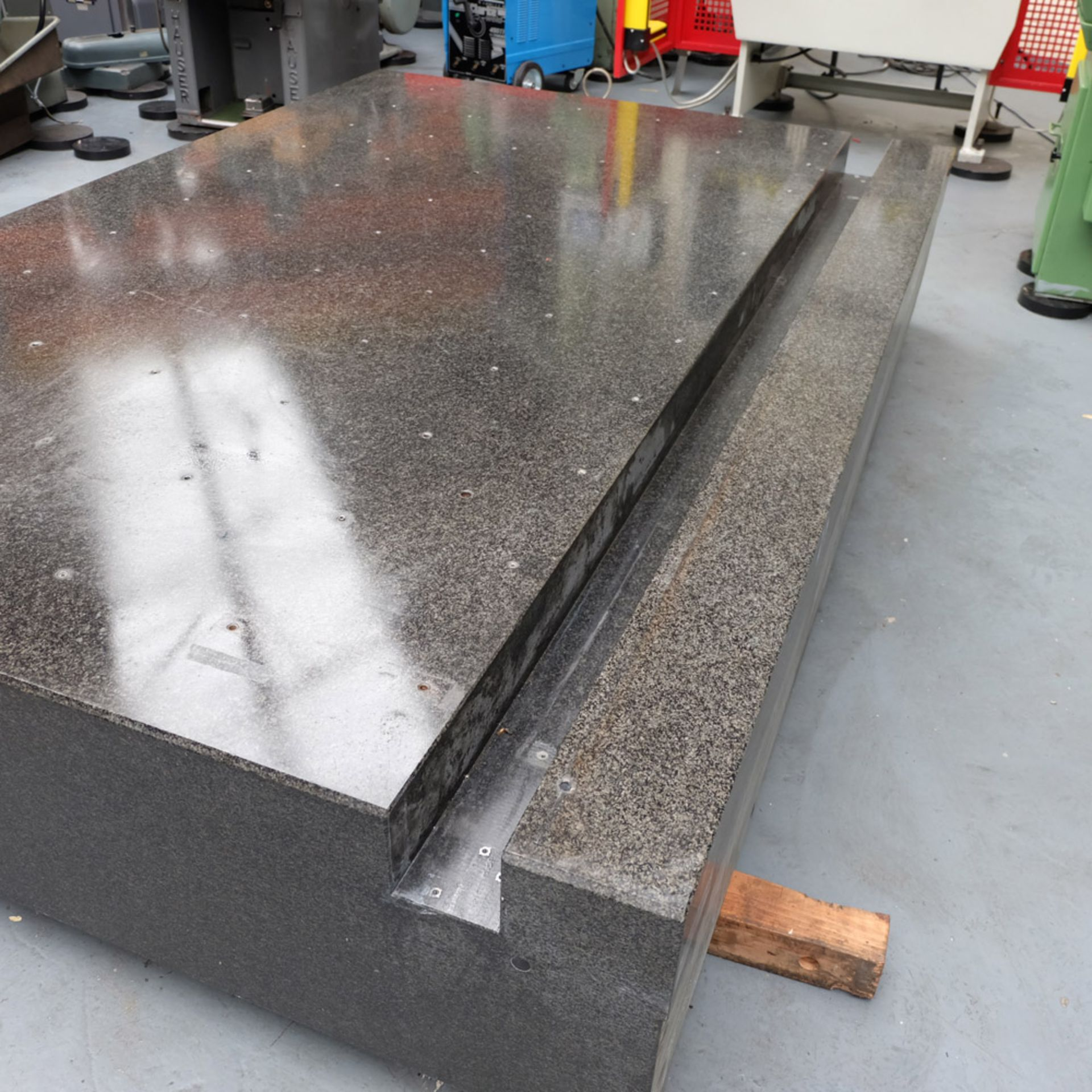 LK Granite Surface Table. Size: 2860mm x 1880mm x 460mm. - Image 5 of 7