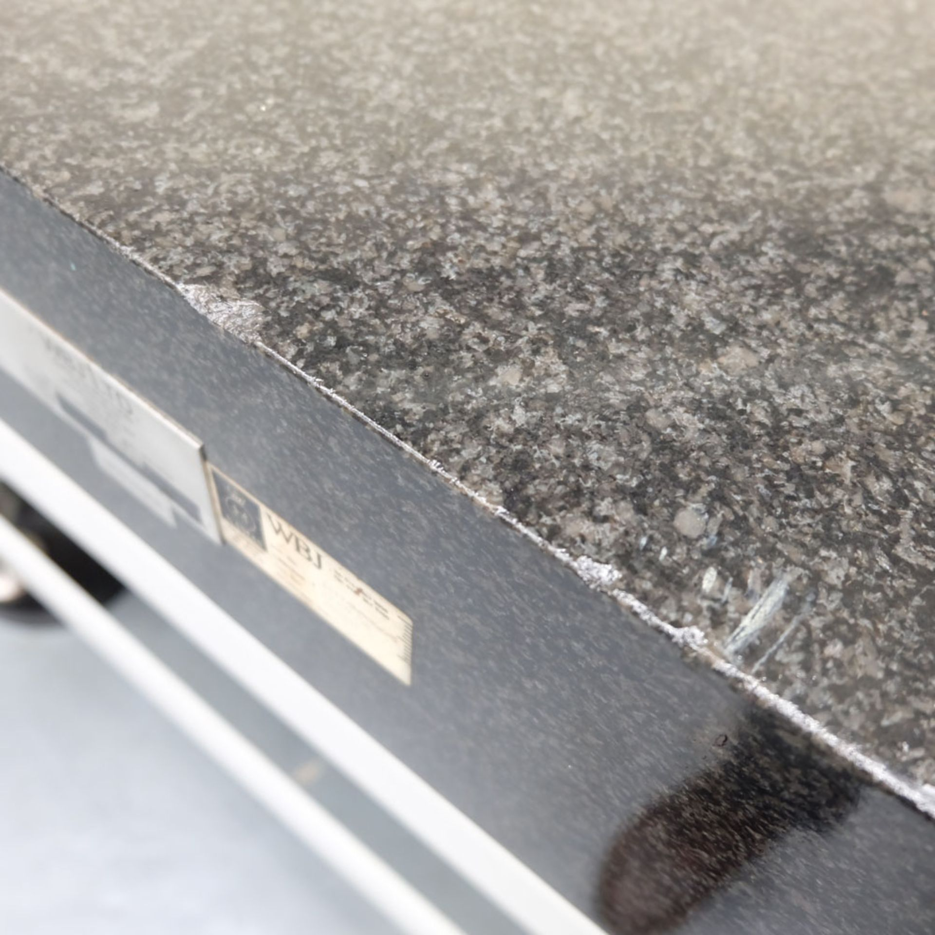 """WBJ Granite Surface Table. Size 48"""" x 36"""". Thickness 6"""". - Image 5 of 6"""
