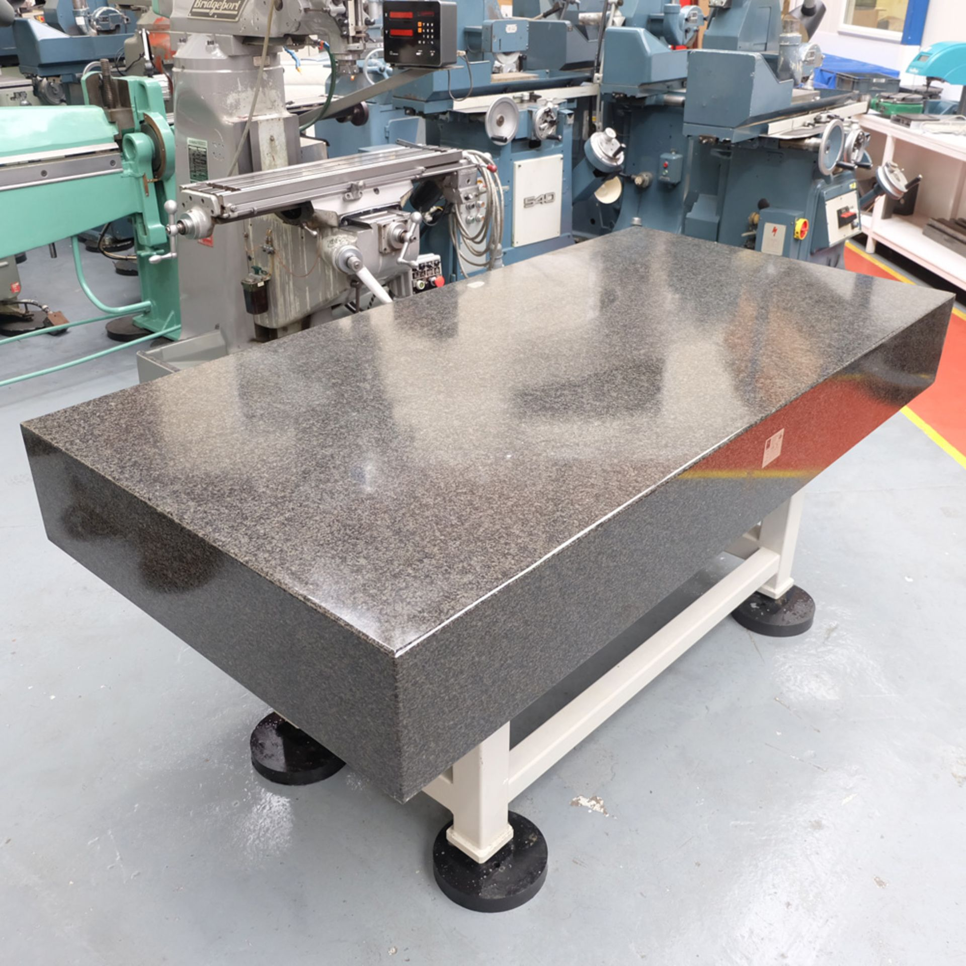 Eley Metrology Granite Surface Table. Table Size 2000mm x 1000mm x 260mm. - Image 3 of 7