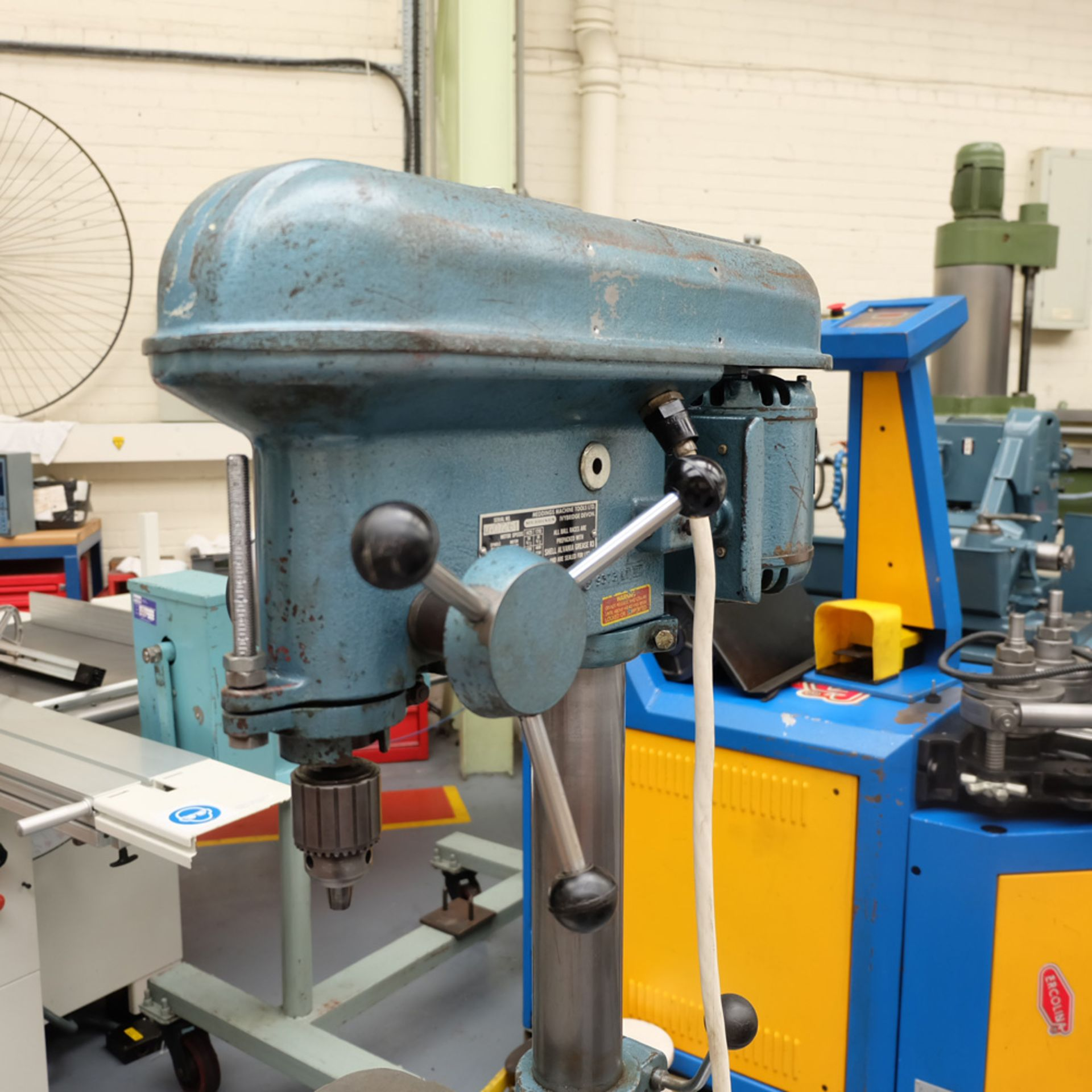 "Meddings LF1 Pillar Drill. Capacity 1/2"". 5 Speeds 500 - 4000rpm. - Image 2 of 6"
